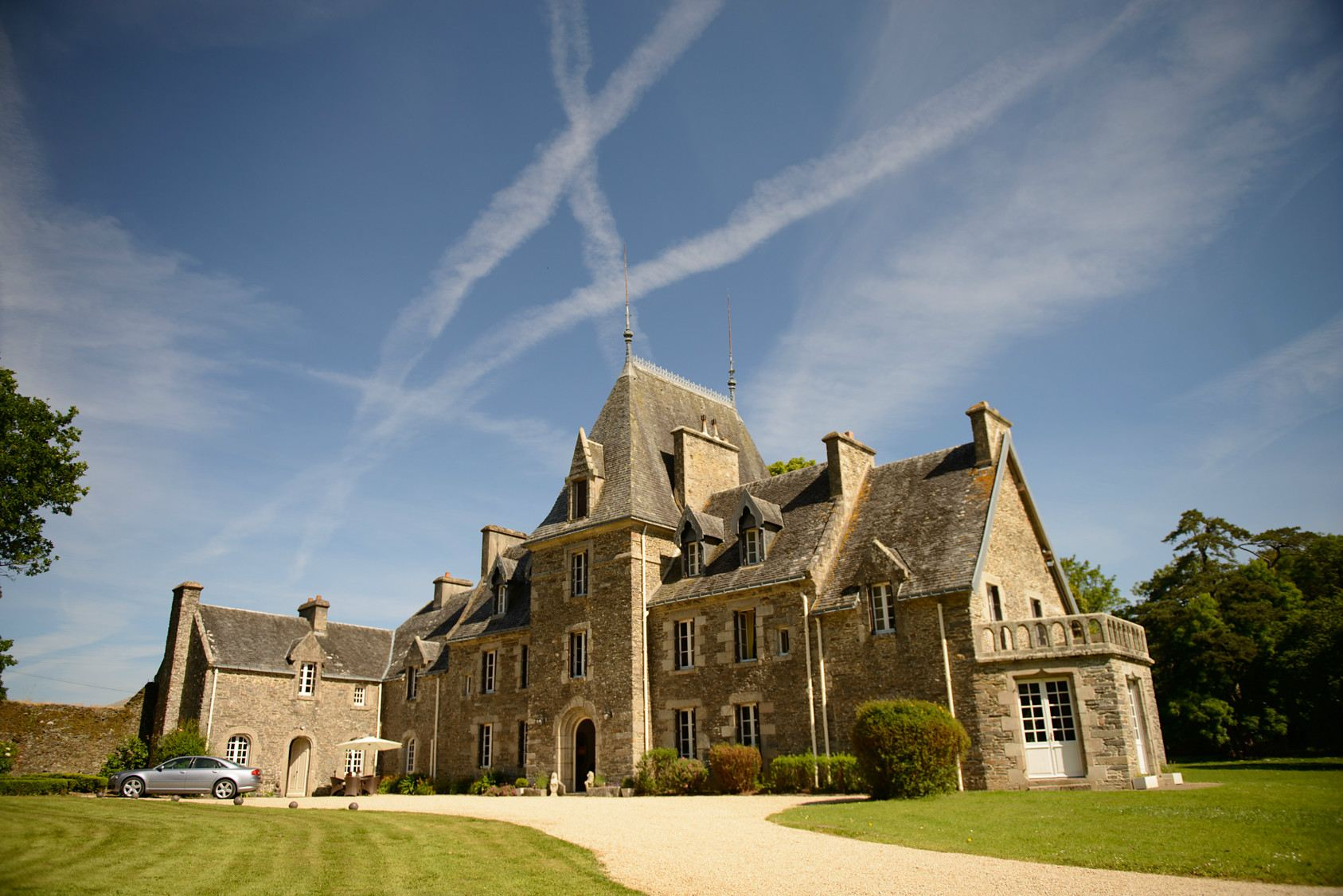 Property For Sale at Castle for sale in Brittany in excellent condition set on 86 acres.