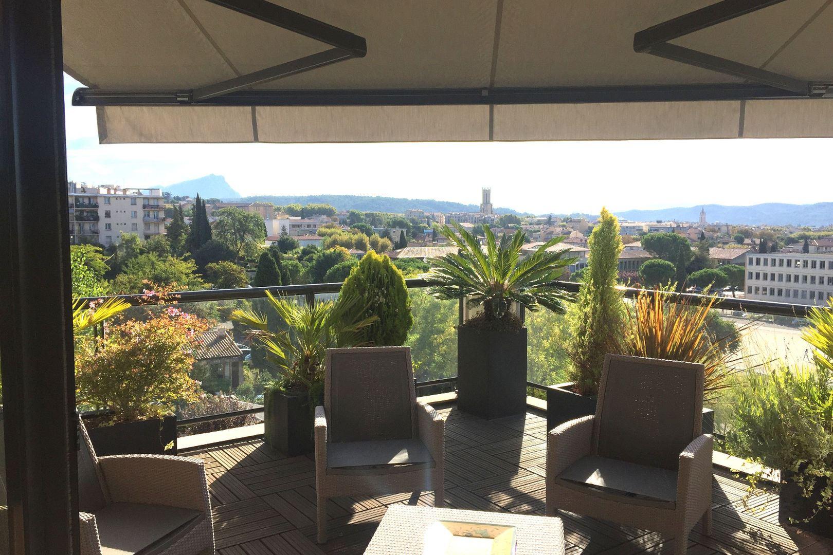 아파트 용 매매 에 APPARTEMENT DE STANDING AVEC VUE IMPRENABLE Other Provence-Alpes-Cote D'Azur, 프로벤스 앞ㄹ프스 코테 D'Azur, 13100 프랑스
