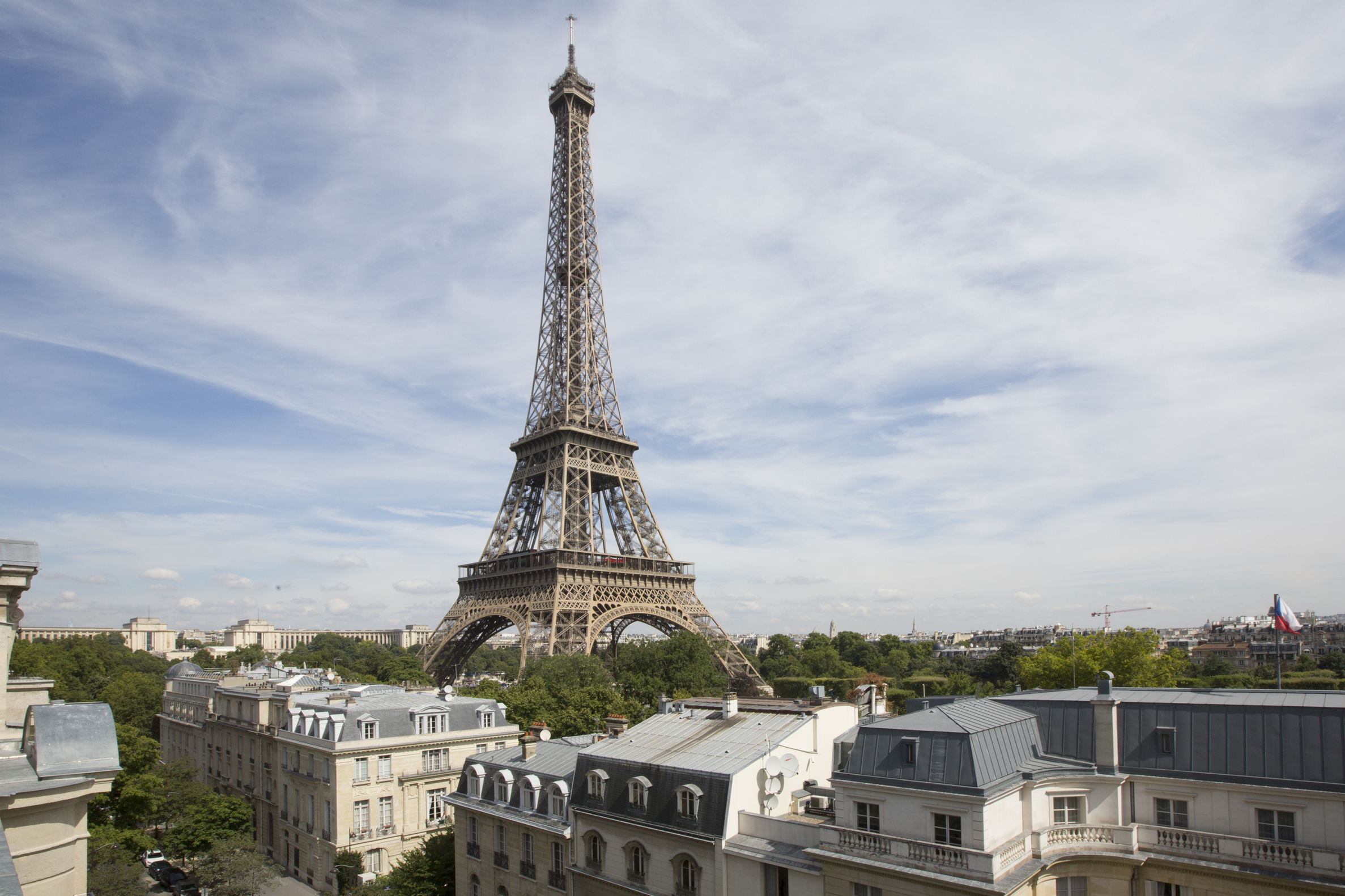 Property For Sale at Paris 7 - Panoramic view over the Eiffel Tower and monuments