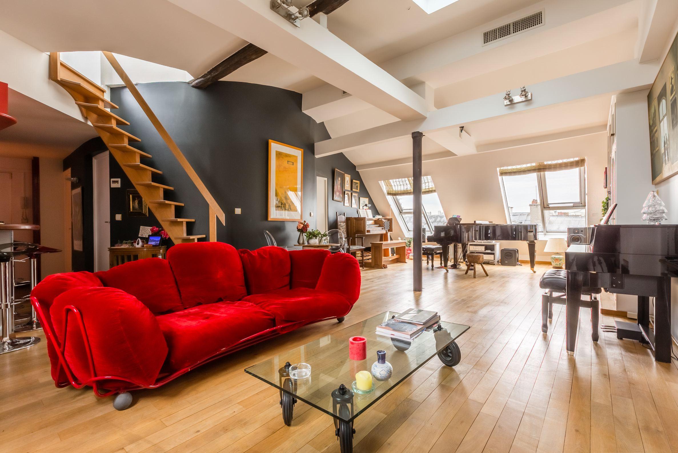 sales property at Appartement en dernier étage avec terrasse