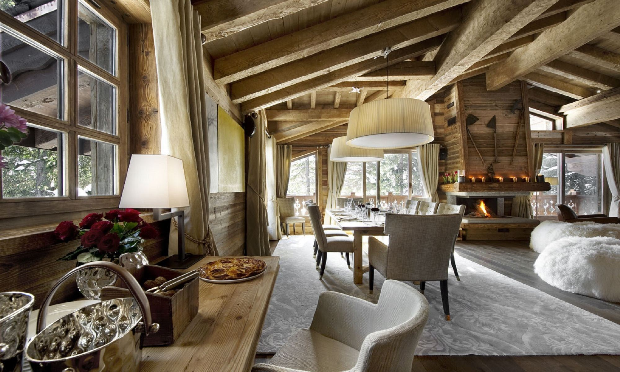 Property Of Luxury chalet for rent Courchevel 1850 Les Gentiannes