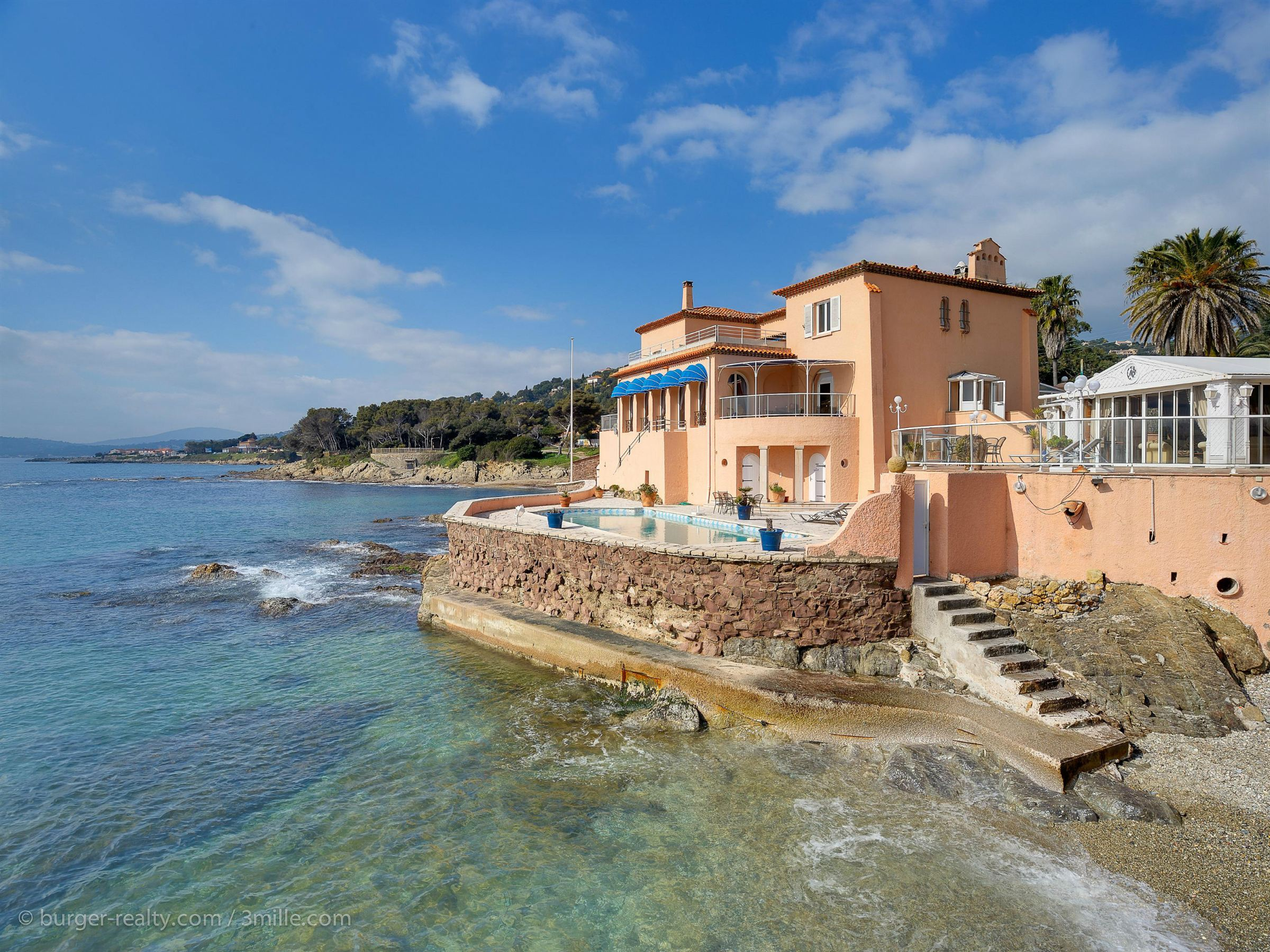 sales property at Exceptional waterfront villa built in the 30's, Les Issambres