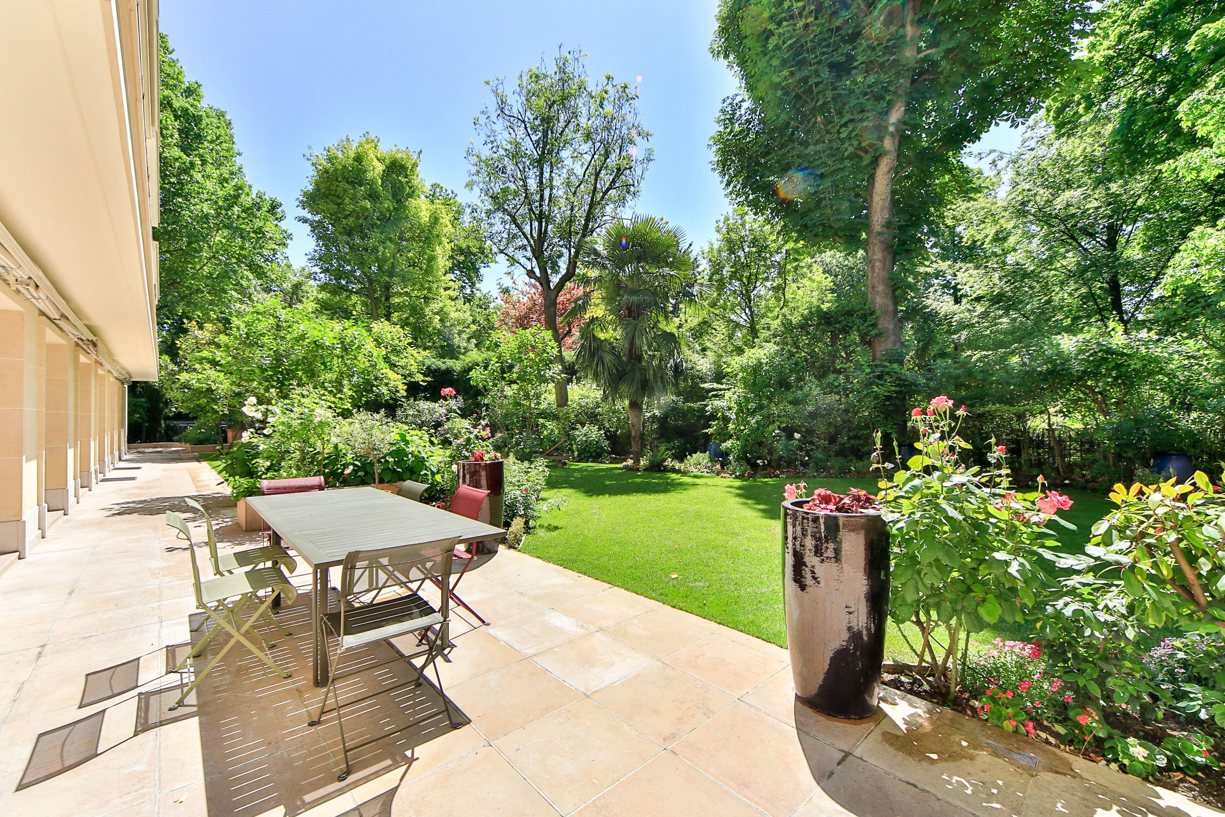 Apartment for Sale at Paris 8 - Parc Monceau. Rare. Exceptional duplex - 600 sq.m. garden Paris, Paris, 75008 France