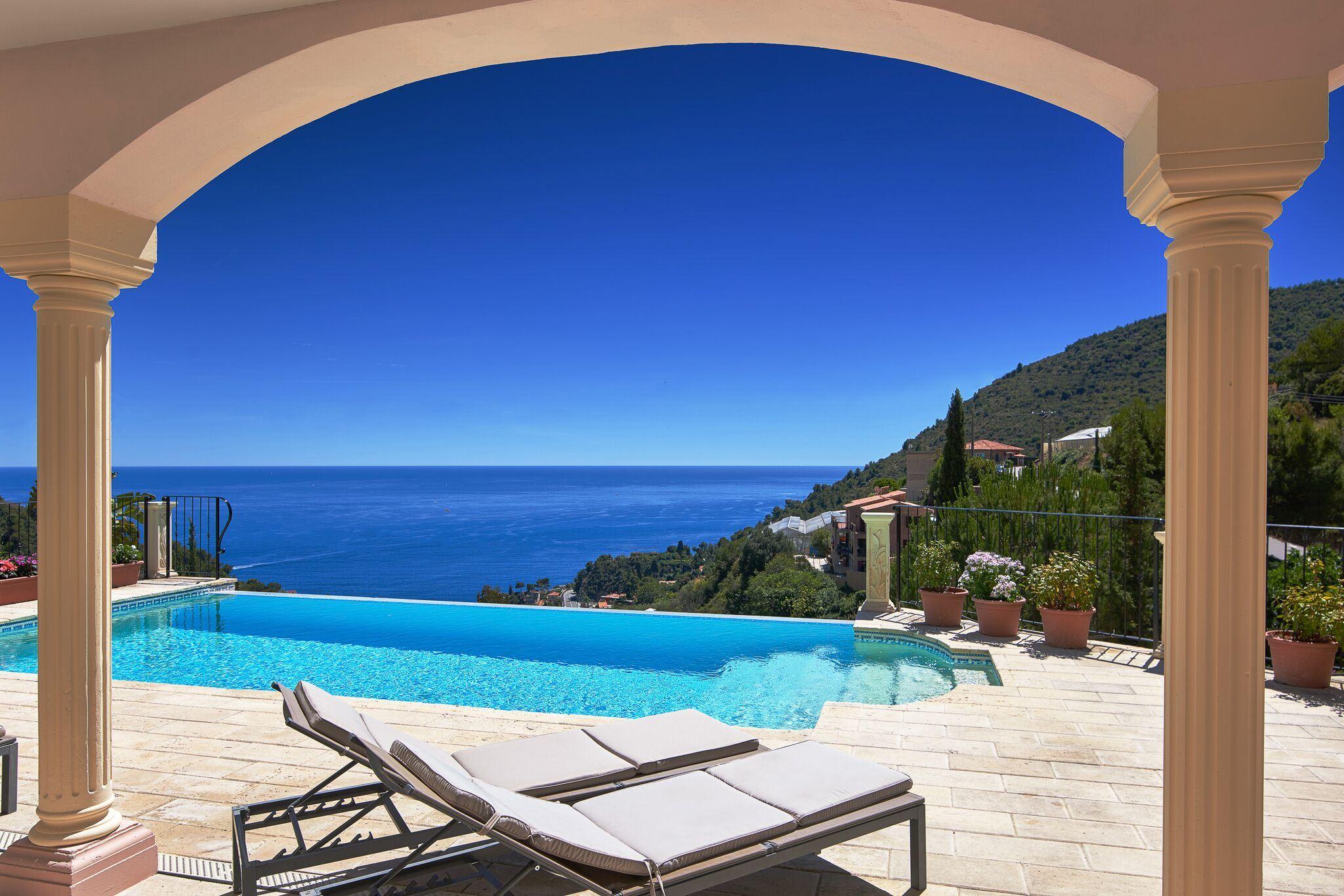 Single Family Home for Sale at Provencal style villa - sea views Eze, Provence-Alpes-Cote D'Azur, 06360 France