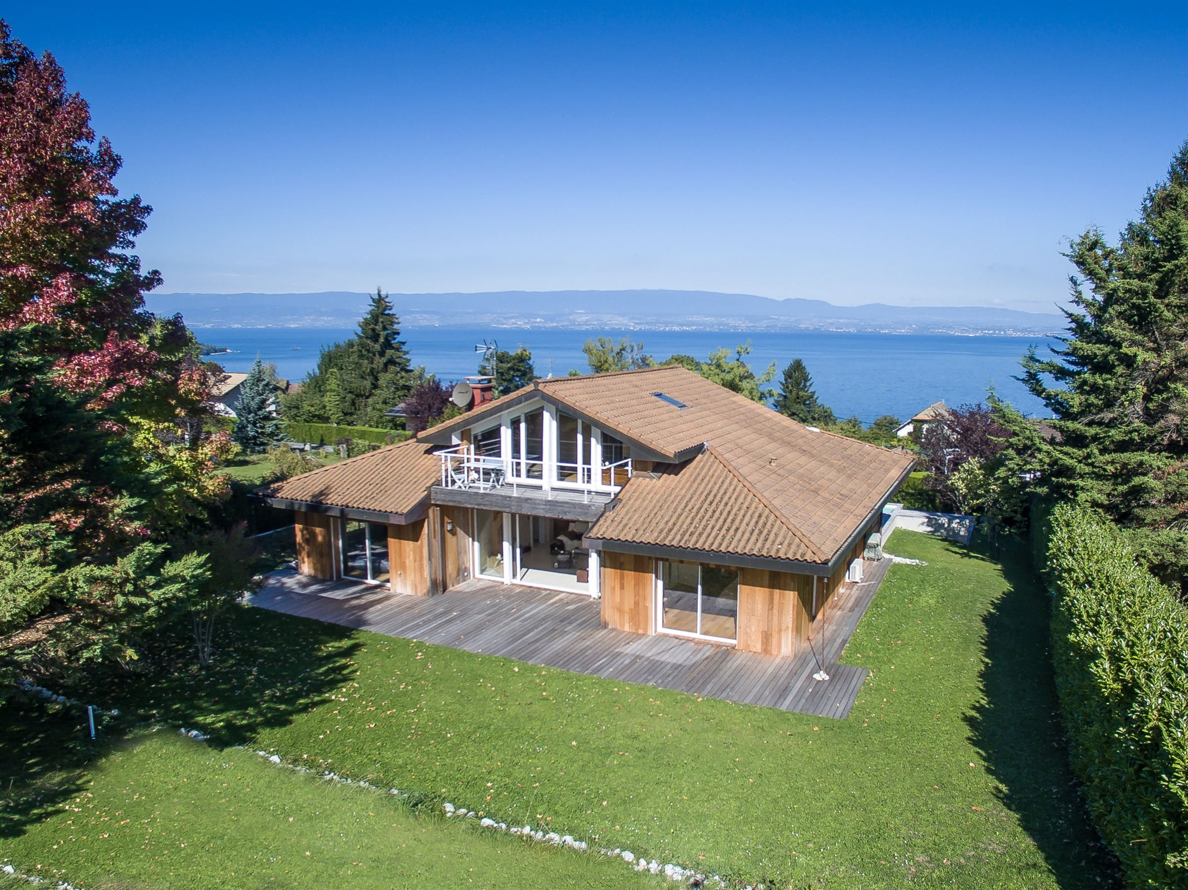 sales property at Evian : architect villa
