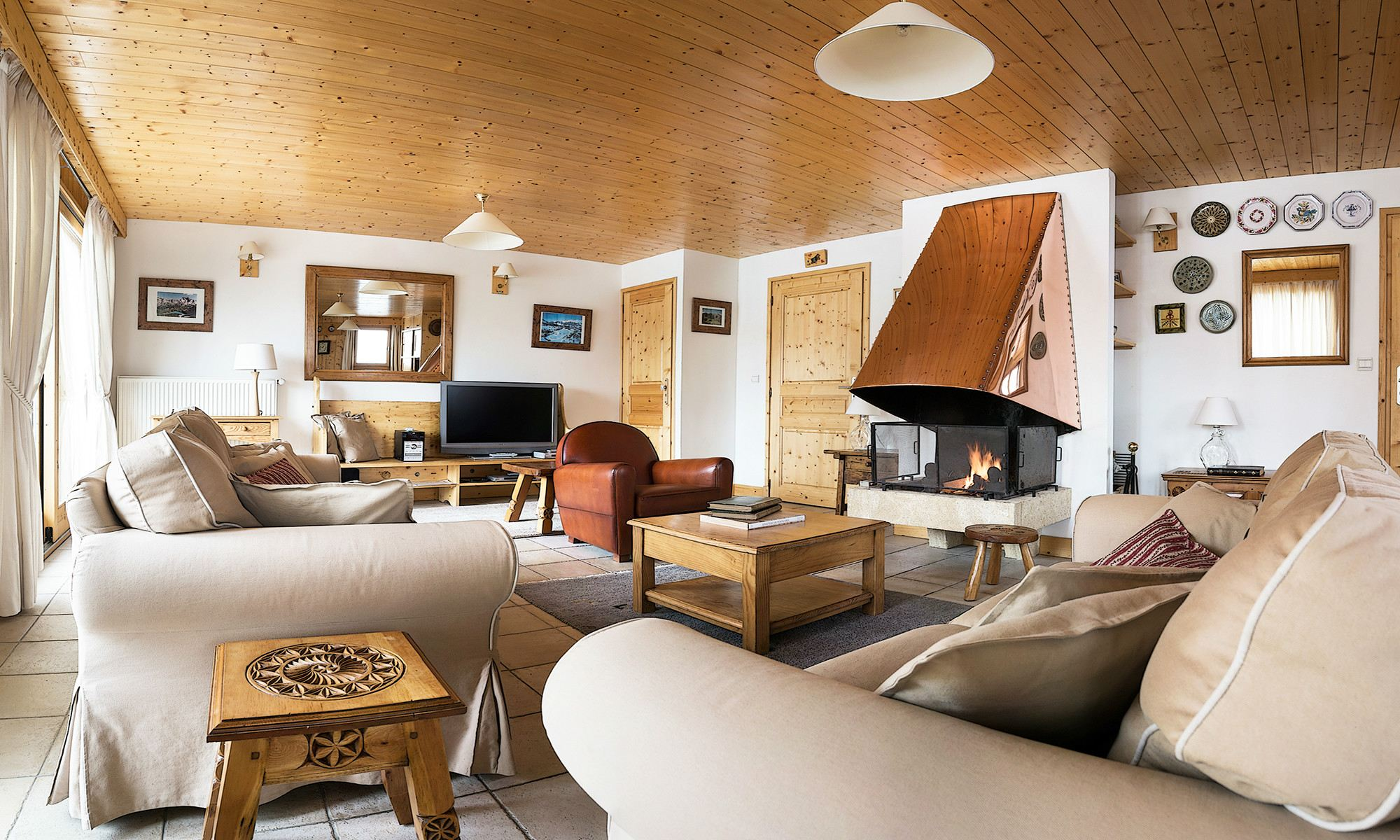 Villa per Affitto alle ore Chalet for rent in Courchevel Atlas Courchevel, Rodano-Alpi, 73120 Francia