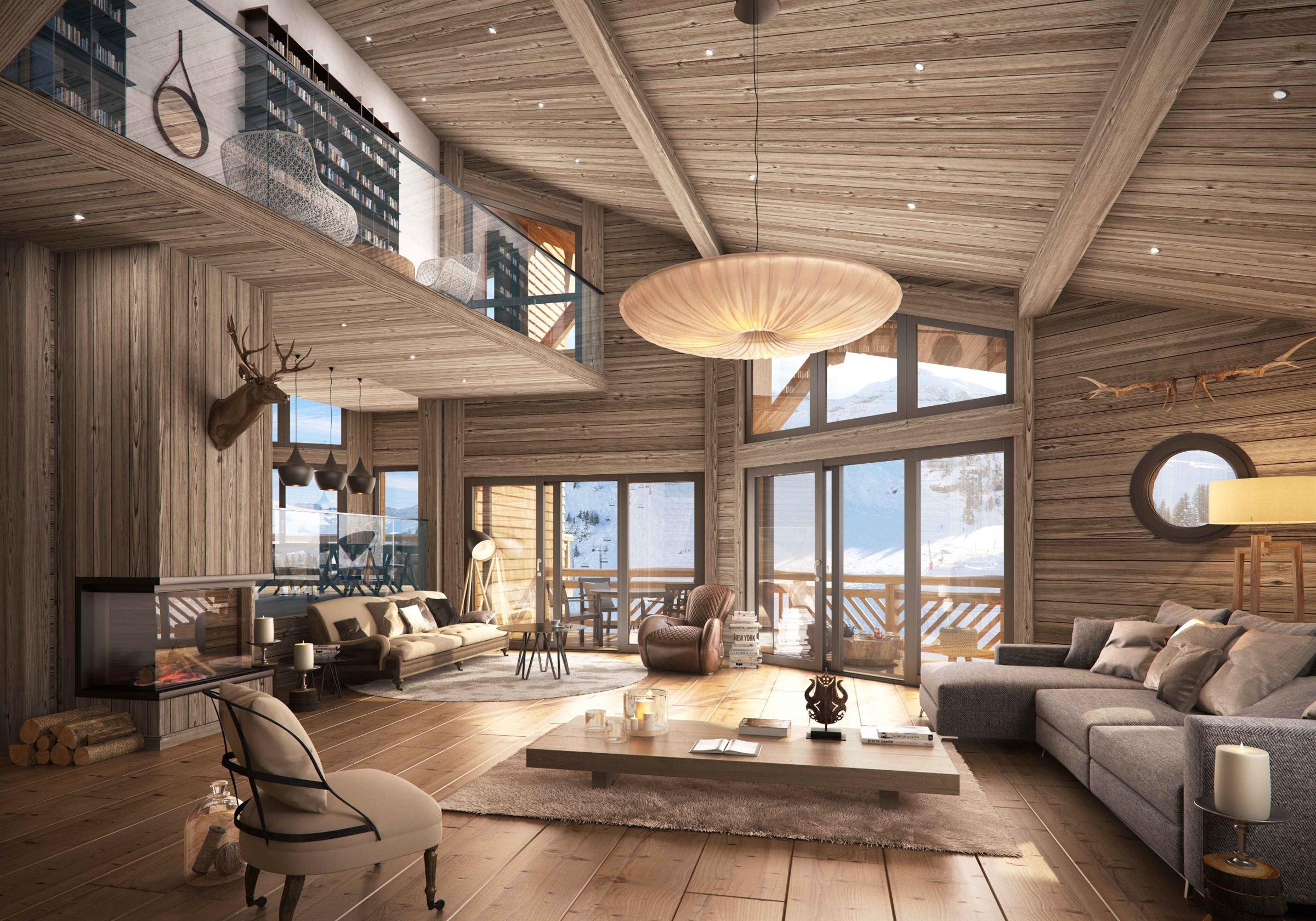 獨棟家庭住宅 為 出售 在 Chalet Morzine, 羅納阿爾卑斯, 74110 法國