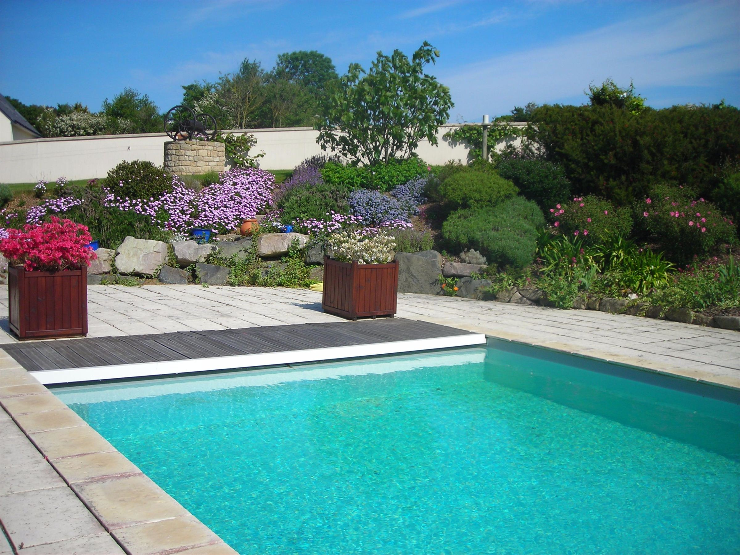 sales property at Near Val André: beautiful thatched cottage of 287m2 with swimming pool.