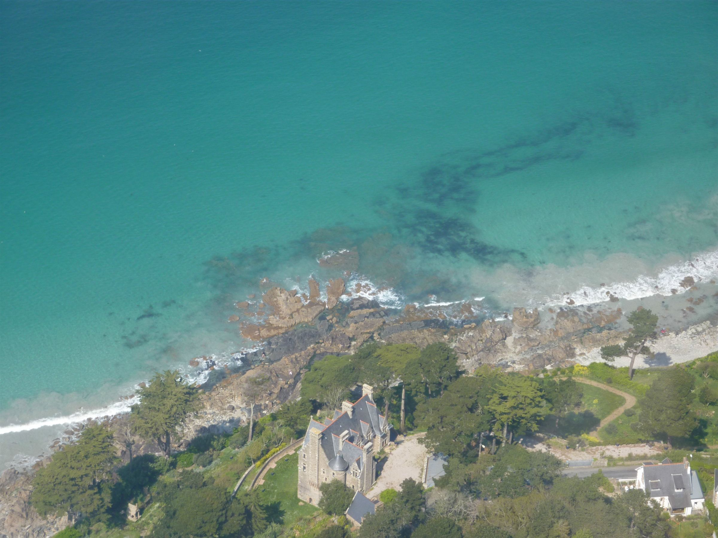 sales property at Perros Guirec Waterfront Manor for sale in Brittany with direct beach access