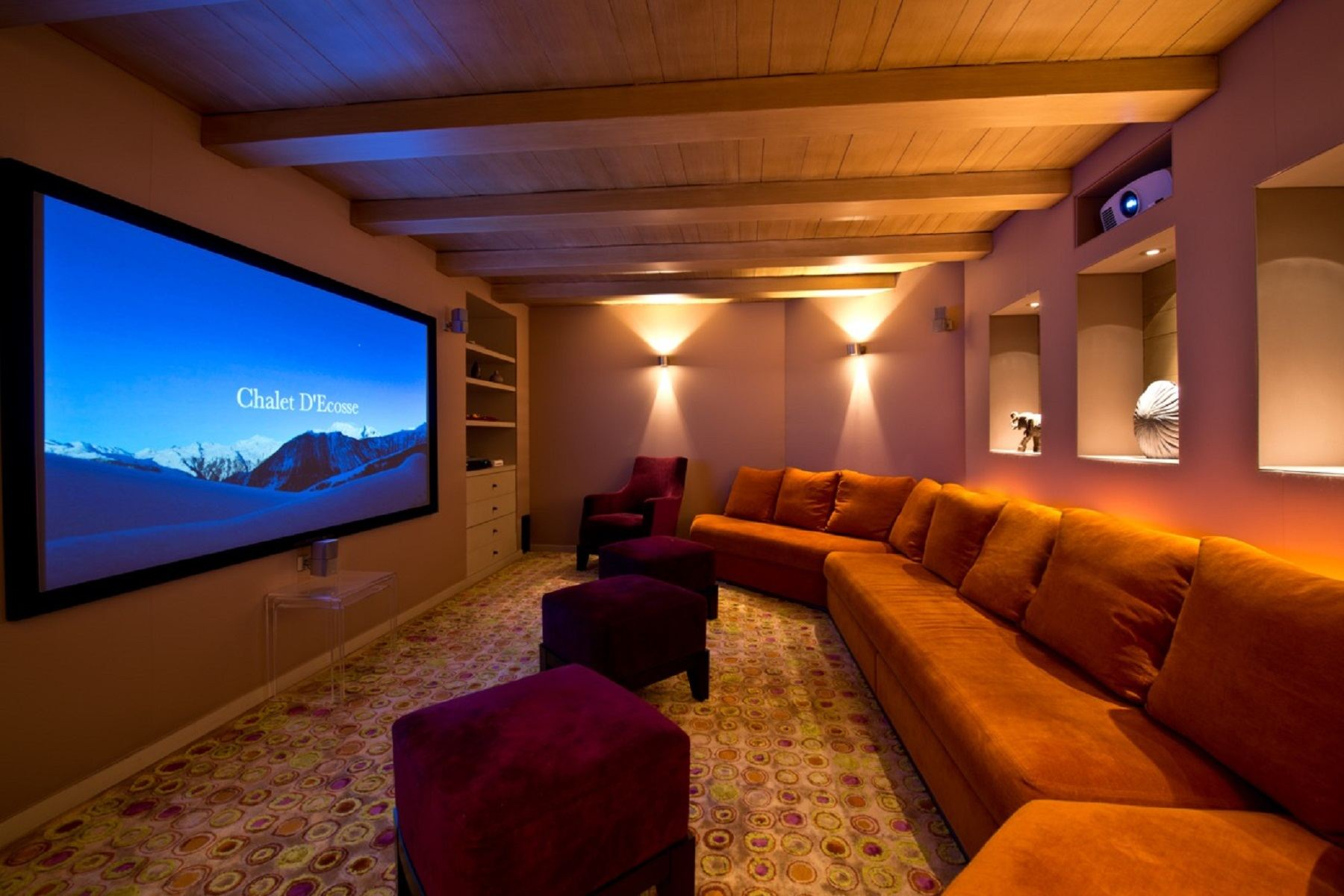 Property Of Courchevel chalet for rent Ecosse