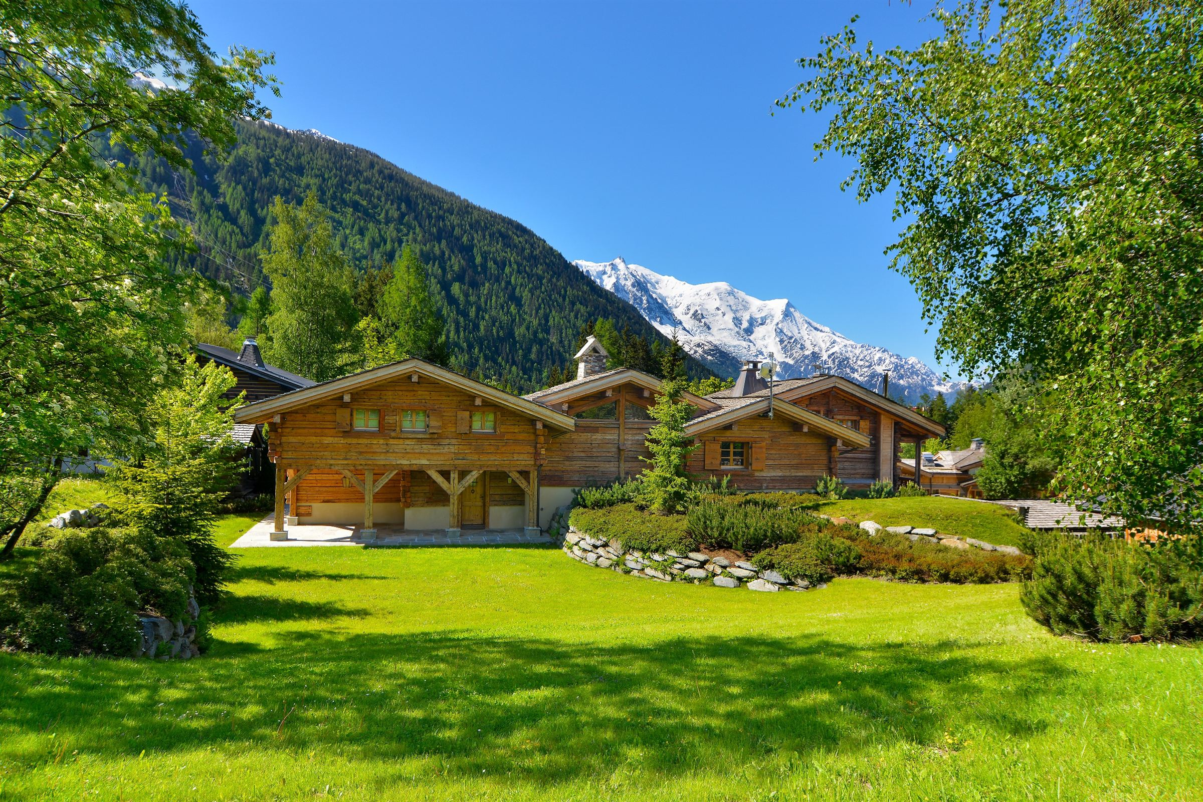 sales property at high quality chalet chamonix mont blanc argentiere