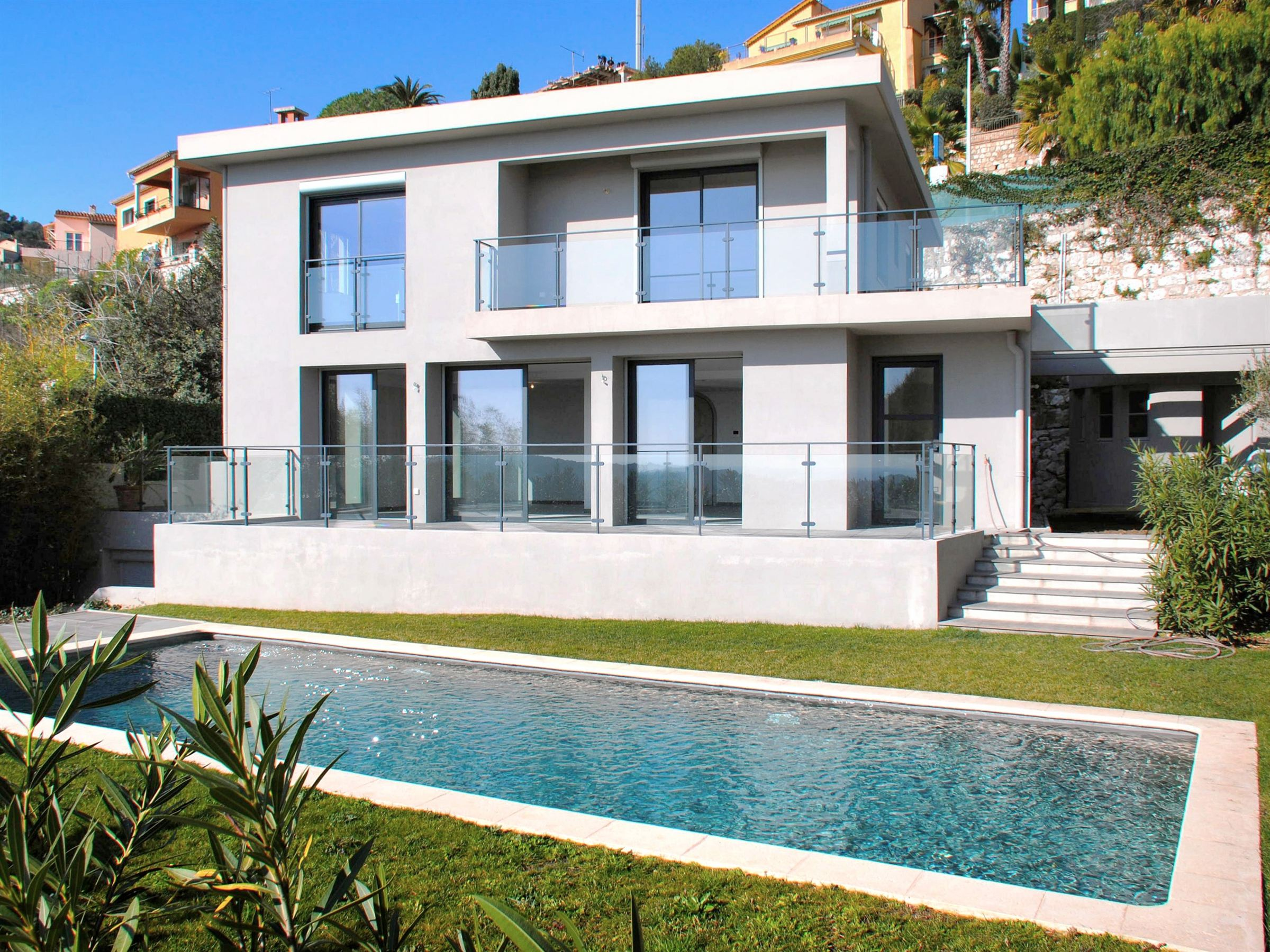 단독 가정 주택 용 매매 에 Contemporary villa close to the centre Villefranche Sur Mer, 프로벤스 앞ㄹ프스 코테 D'Azur 06230 프랑스
