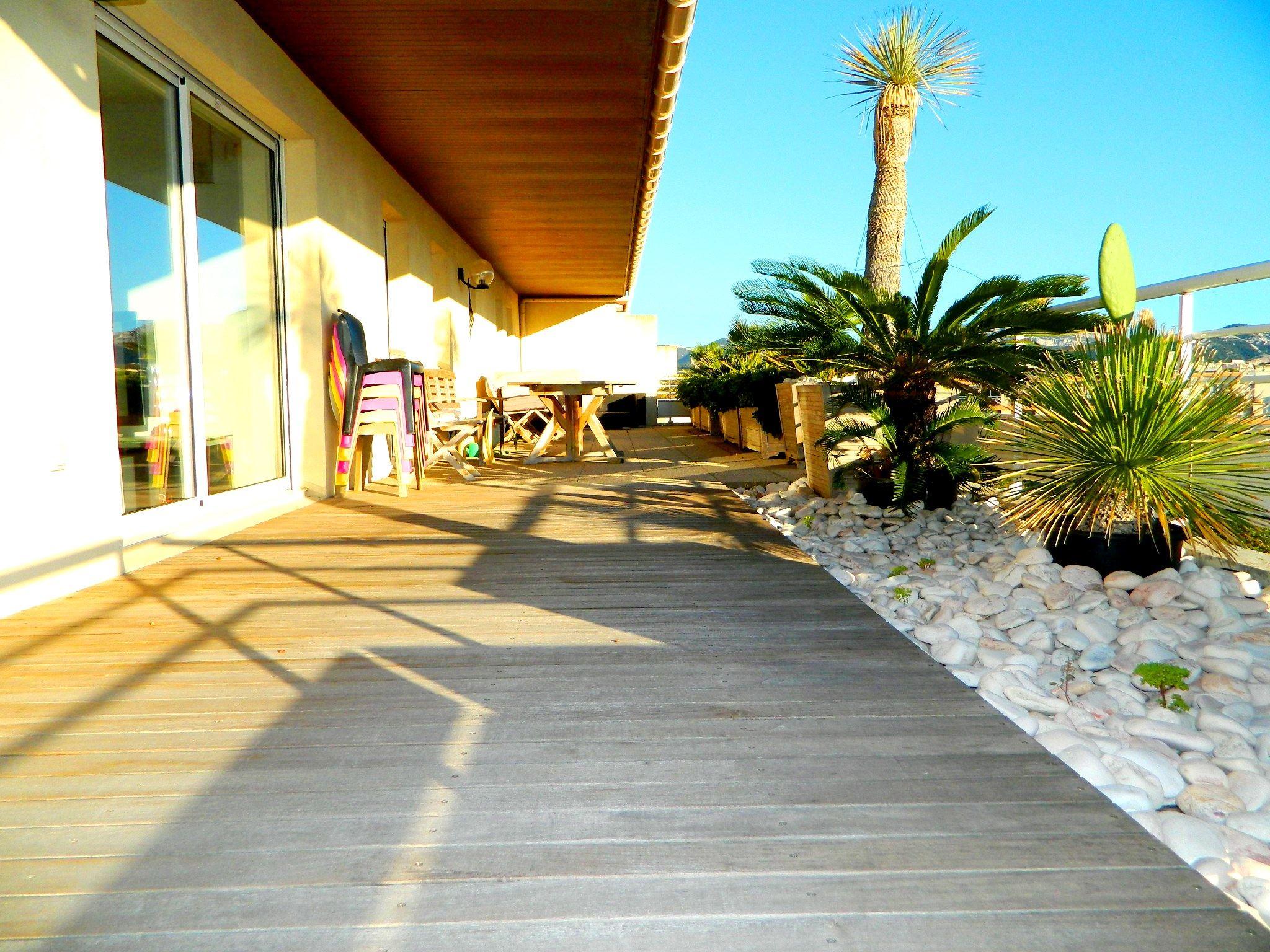 Apartamento por un Venta en BORELY - TRES BEAU PENTHOUSE AVEC GARAGES Marseille, Provincia - Alpes - Costa Azul, 13008 Francia