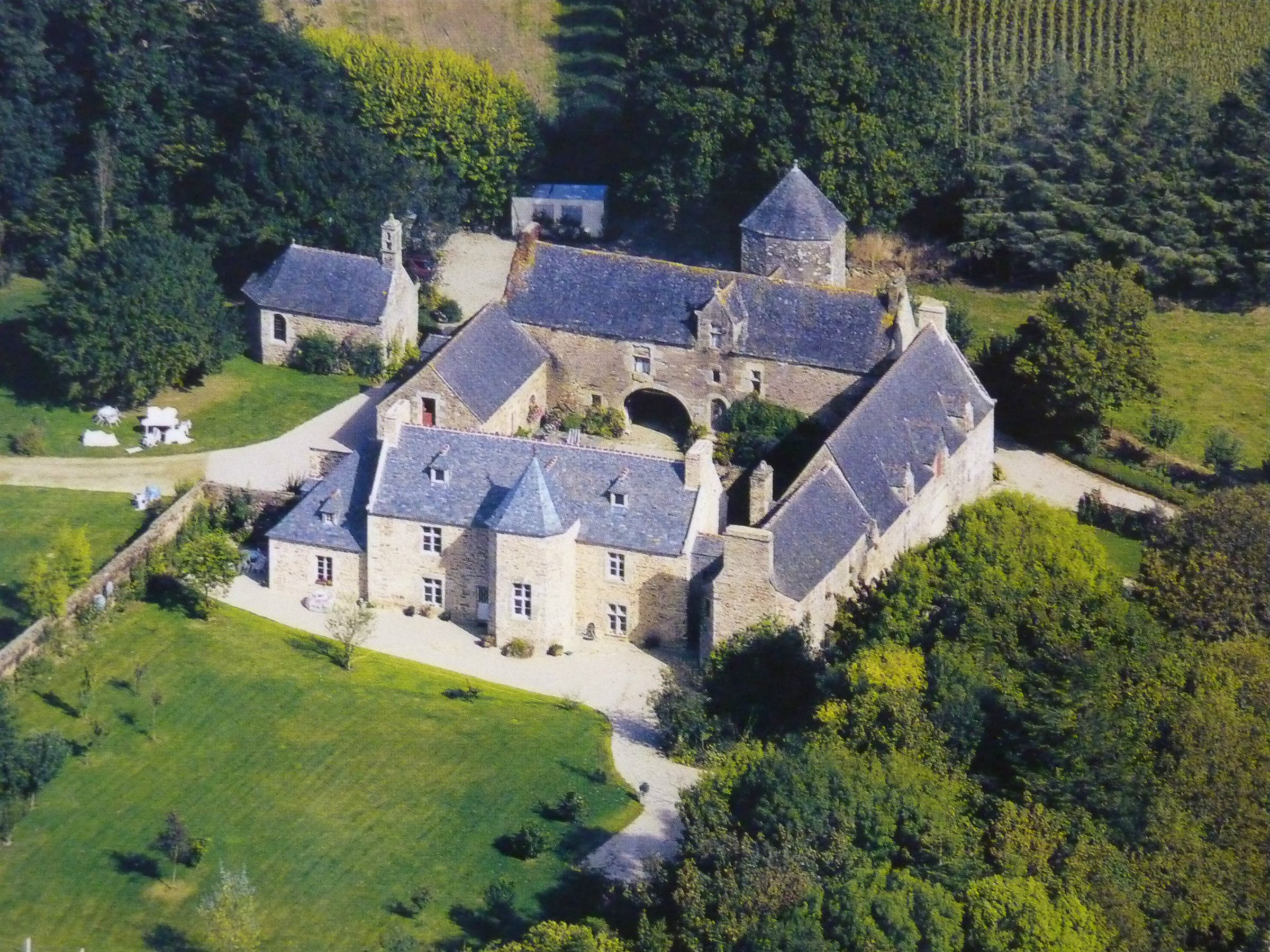 Property For Sale at Listed manor for sale in Brittany with chapel set on 50 acres of Park.