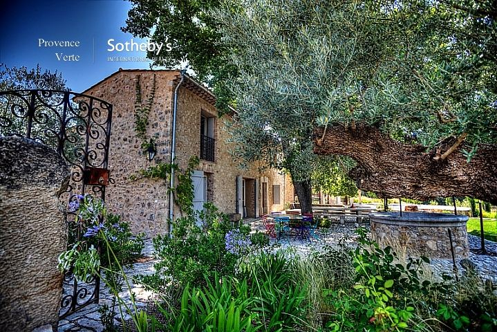 sales property at EXCLUSIVELY UP FOR SALE: RENOVATED AND EXTENDED PROVENCAL BASTIDE