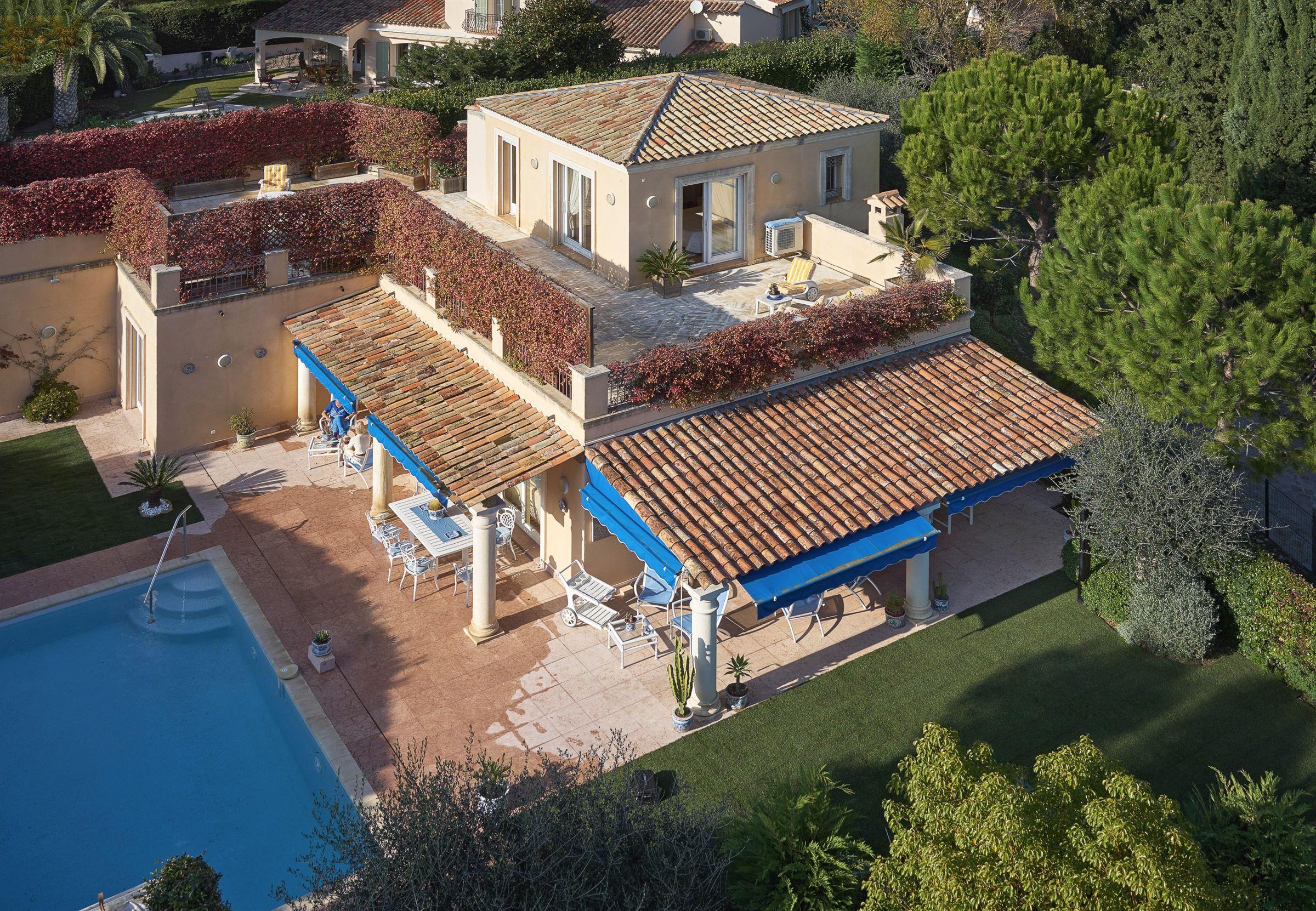 단독 가정 주택 용 매매 에 Lovely villa in a private domain Villefranche Sur Mer, 프로벤스 앞ㄹ프스 코테 D'Azur 06230 프랑스