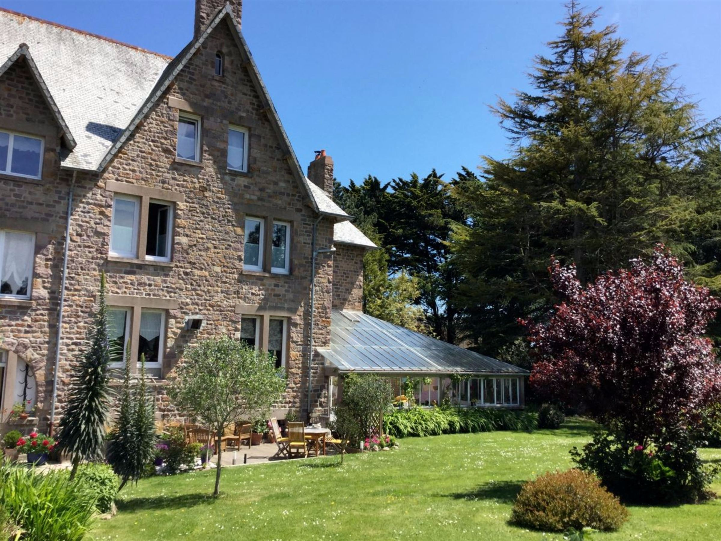 sales property at Paimpol, spacious house of 450sqm for sale on 4212 sqm of landscaped garden