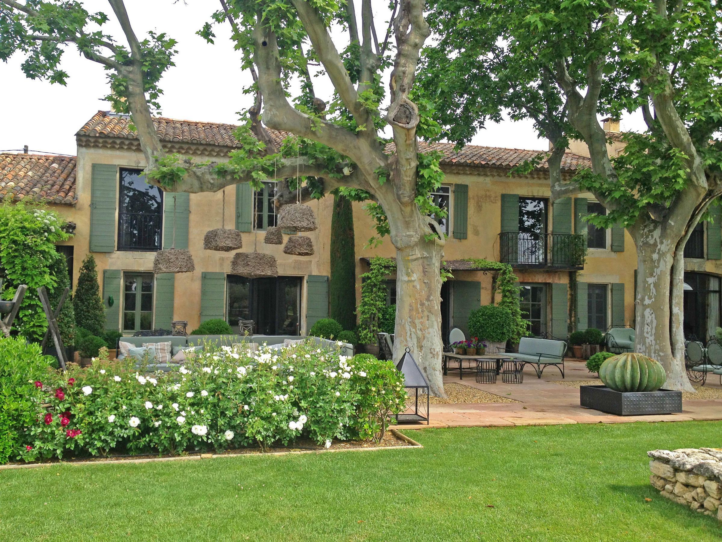Property For Sale at luxurious typical provencal farmhouse close to st remy de provence