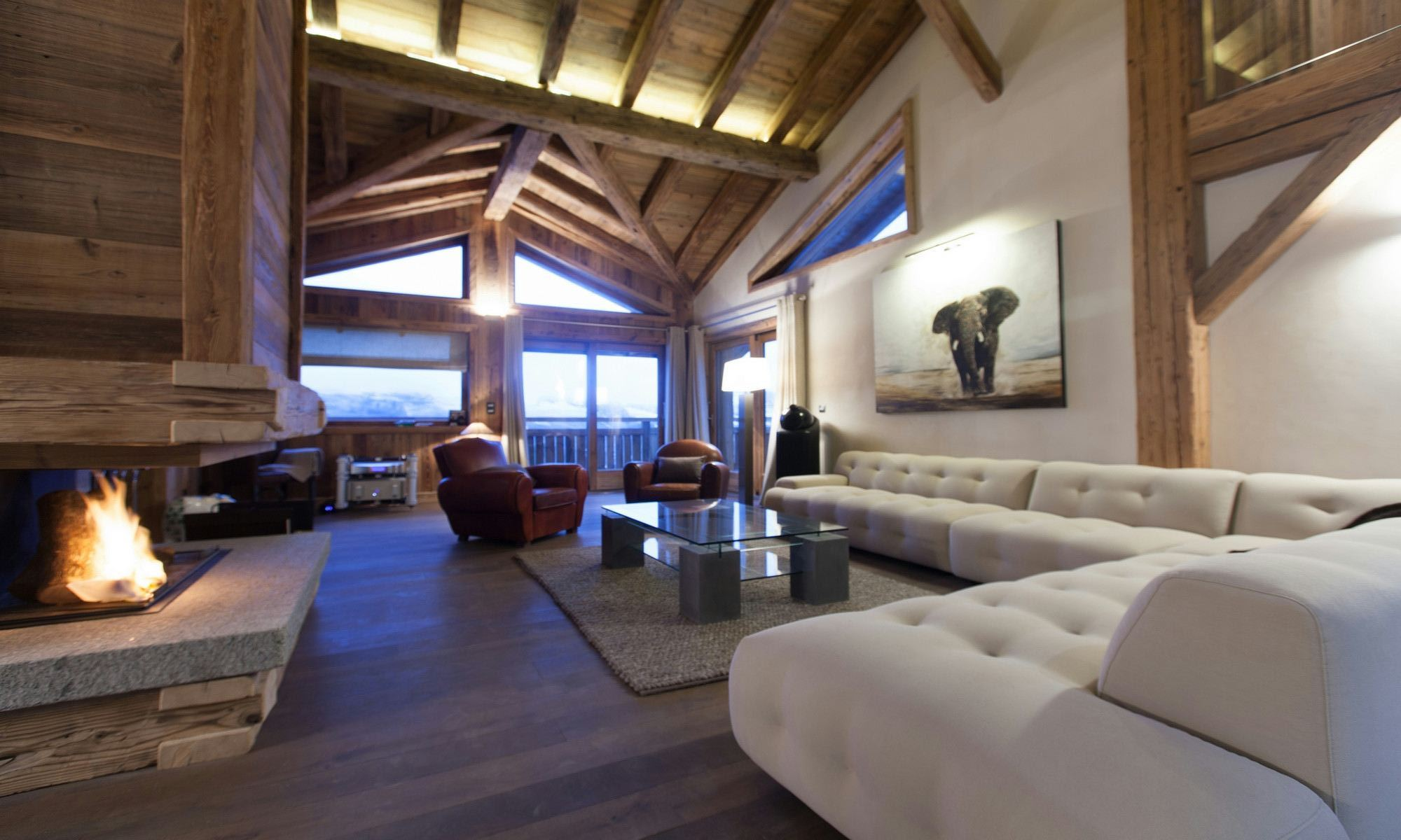 Property For Sale at Rochebrune Megève luxury Chalet Bois Joli