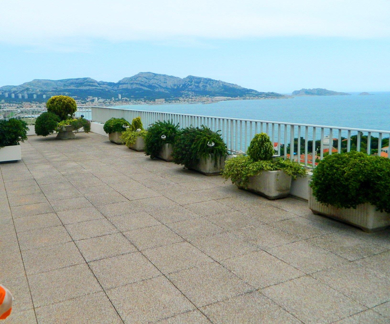 아파트 용 매매 에 penthouse vue mer exceptionnelle Marseille, 프로벤스 앞ㄹ프스 코테 D'Azur, 13007 프랑스