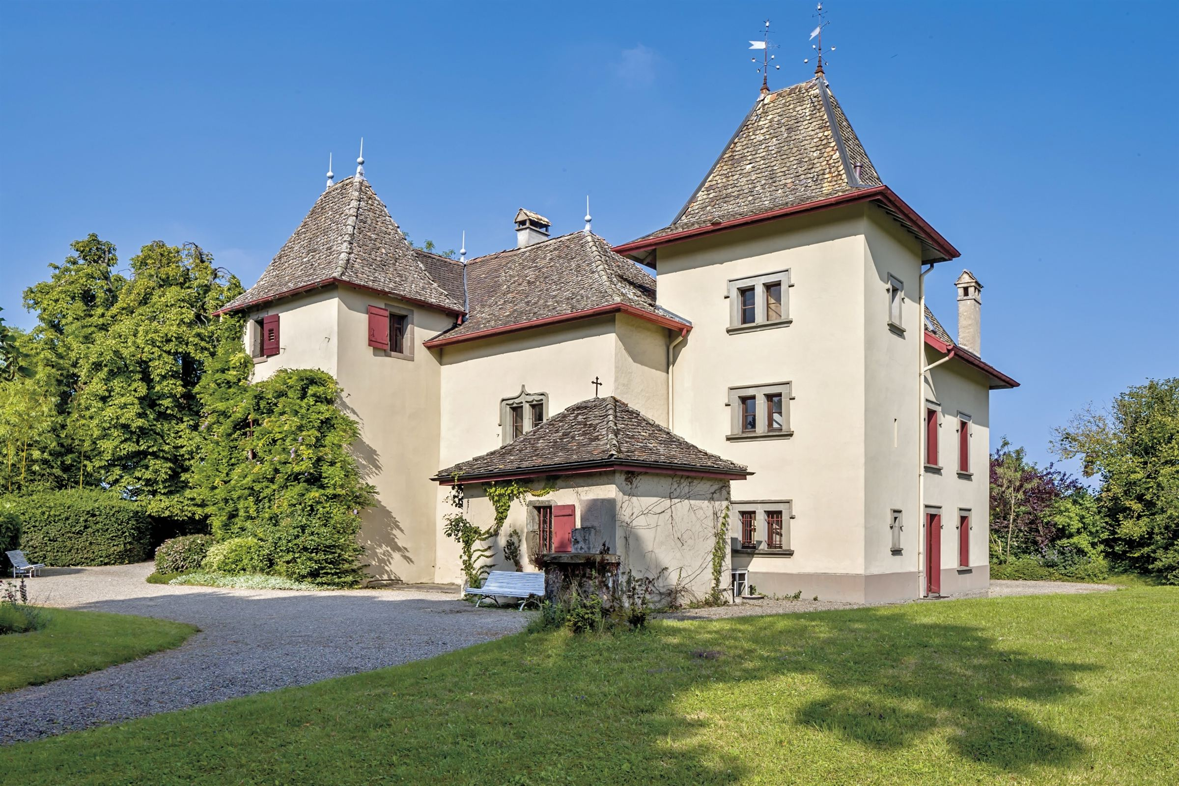 Property For Sale at MANSION OF 300 sqm on 11 636 m2 OF LANDSCAPED GROUND Thonon / Evian