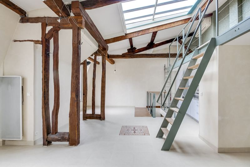 sales property at For sale duplex loft-like in Paris 3rd - Arts et Métiers
