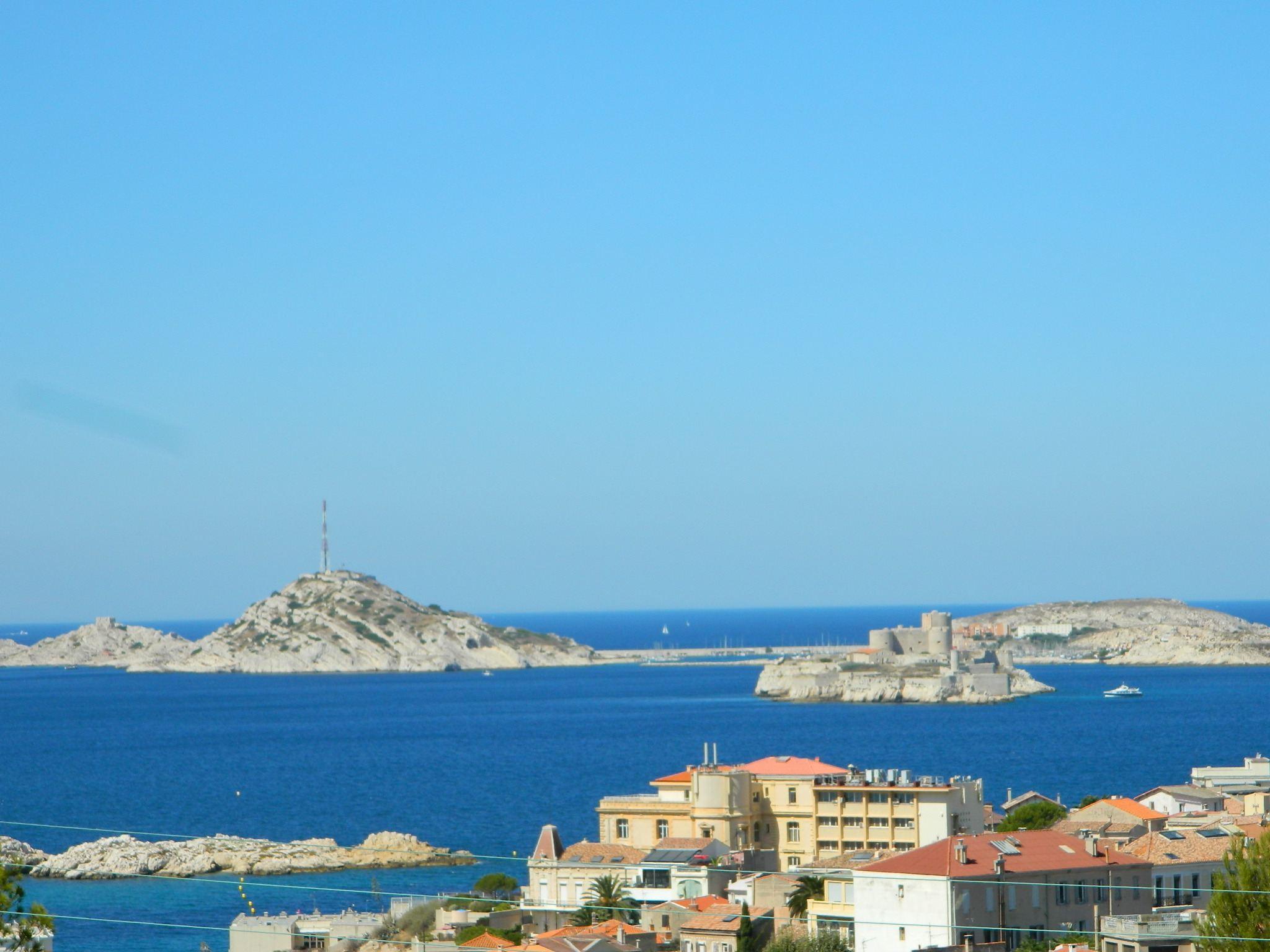 단독 가정 주택 용 매매 에 TRES BELLE CONTEMPORAINE 350M² VUE MER Marseille, 프로벤스 앞ㄹ프스 코테 D'Azur, 13007 프랑스
