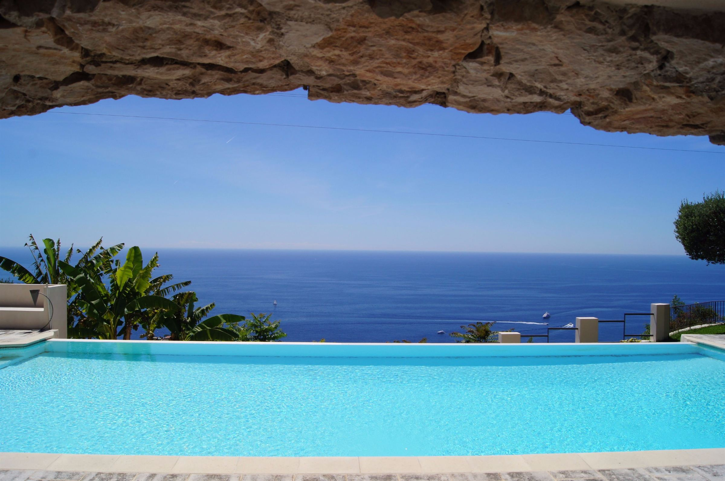 sales property at For Sale in Cap D'Ail - Magnificent villa, overlooking Monaco