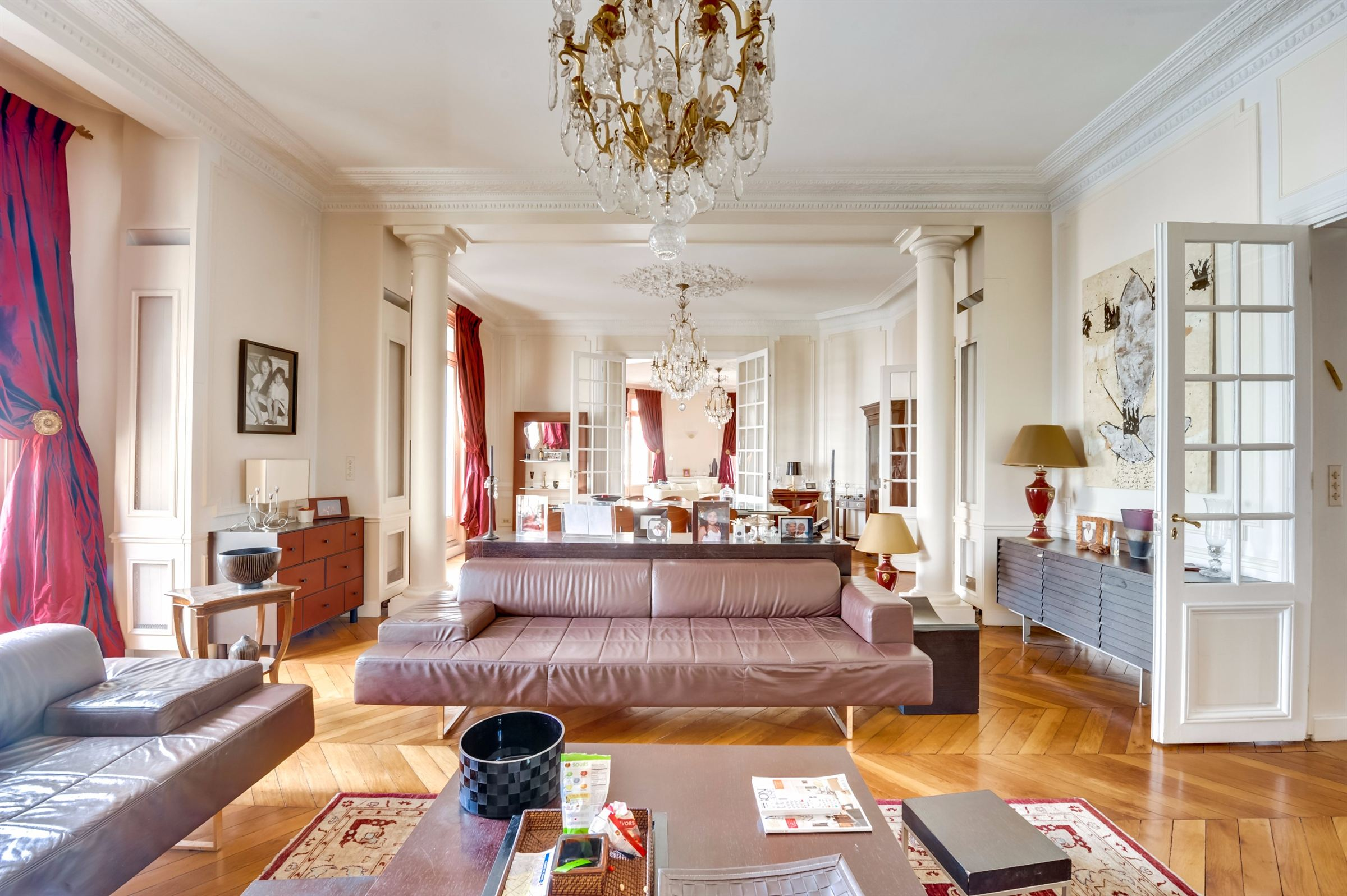 sales property at Prestigious apartment for sale Paris 16 - Passy, 4 bedrooms