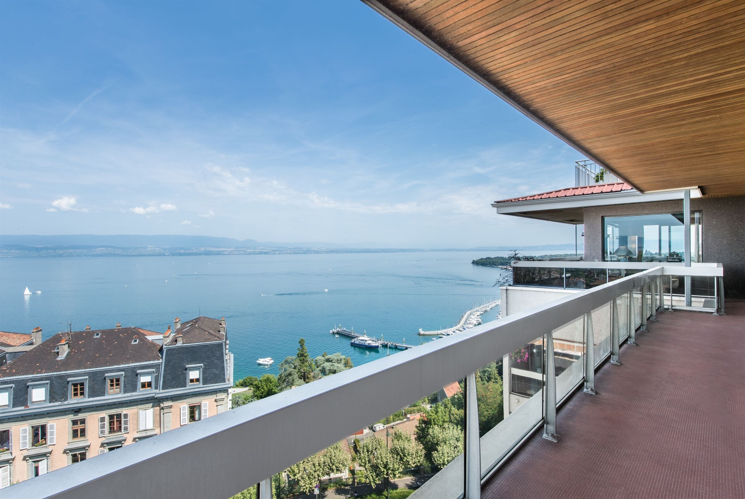 Apartment for Sale at Thonon les Bains, Prestigious apartment with panoramic view on the lake Thonon Les Bains, Haute Savoie 74200 France