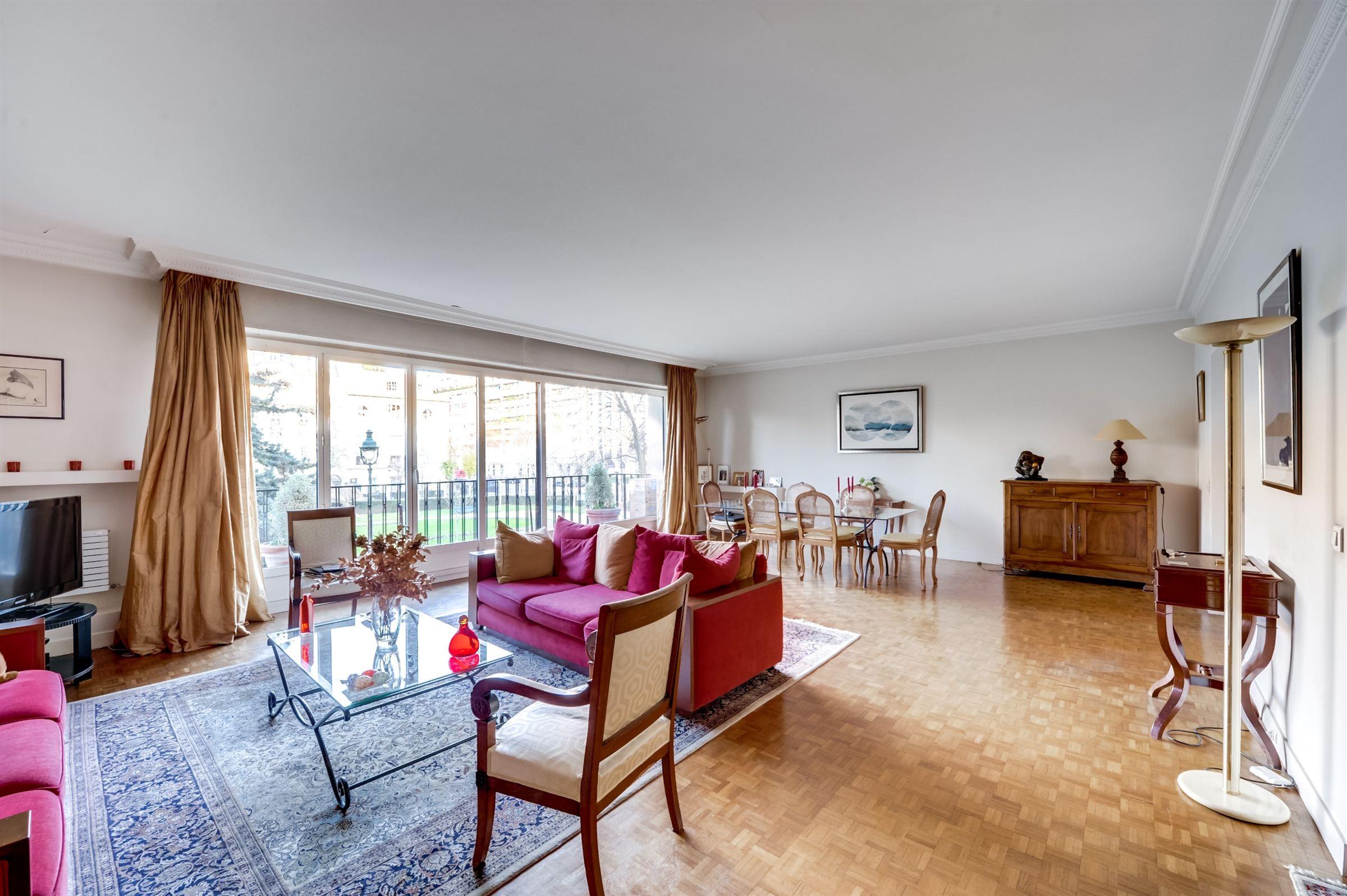 sales property at Apartment with balconies for sale in Paris 16th - Bois de Boulogne