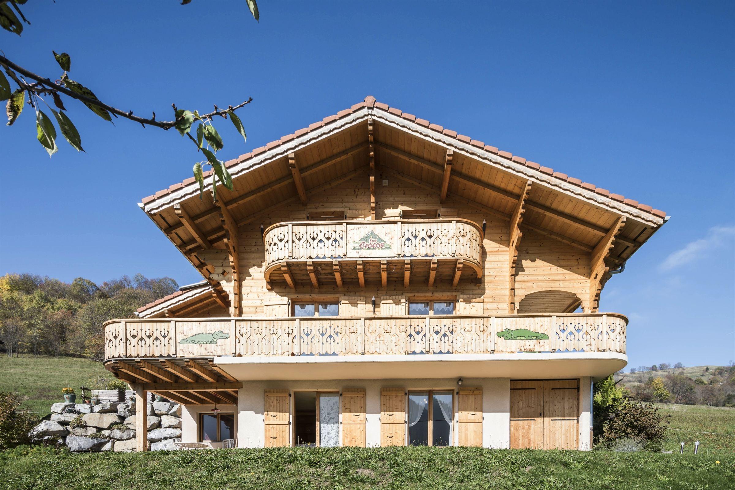 Casa Unifamiliar por un Venta en BERNEX : planks chalet Bernex, Ródano-Alpes, 74500 Francia