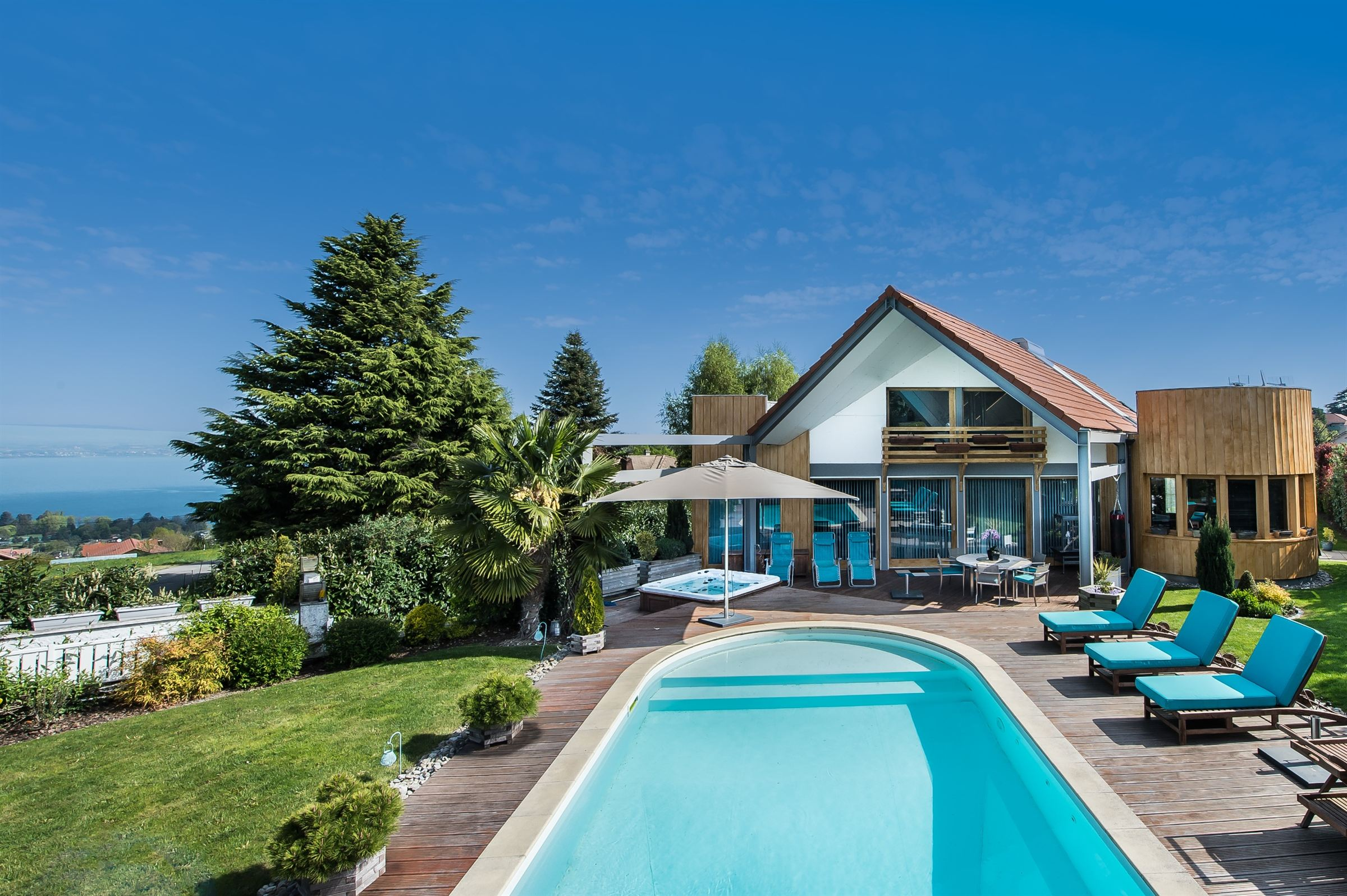 Property For Sale at ATYPICAL ARCHITECT VILLA WITH POOL