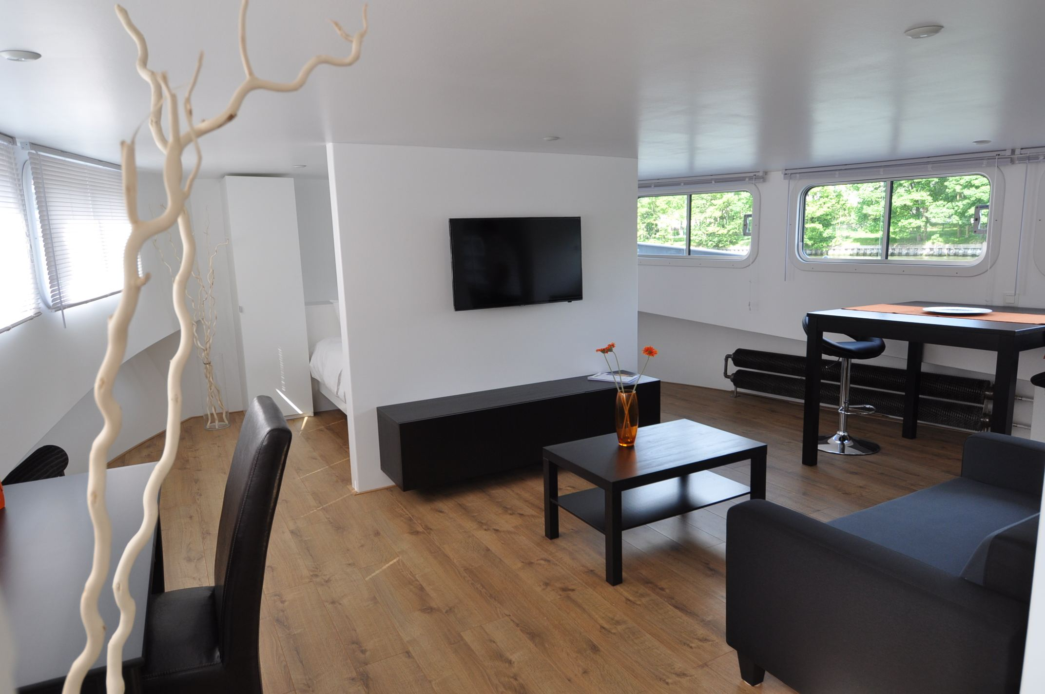 Property For Sale at LILLE, Rare Péniche fully renovated 235 sqm. 5 bedrooms