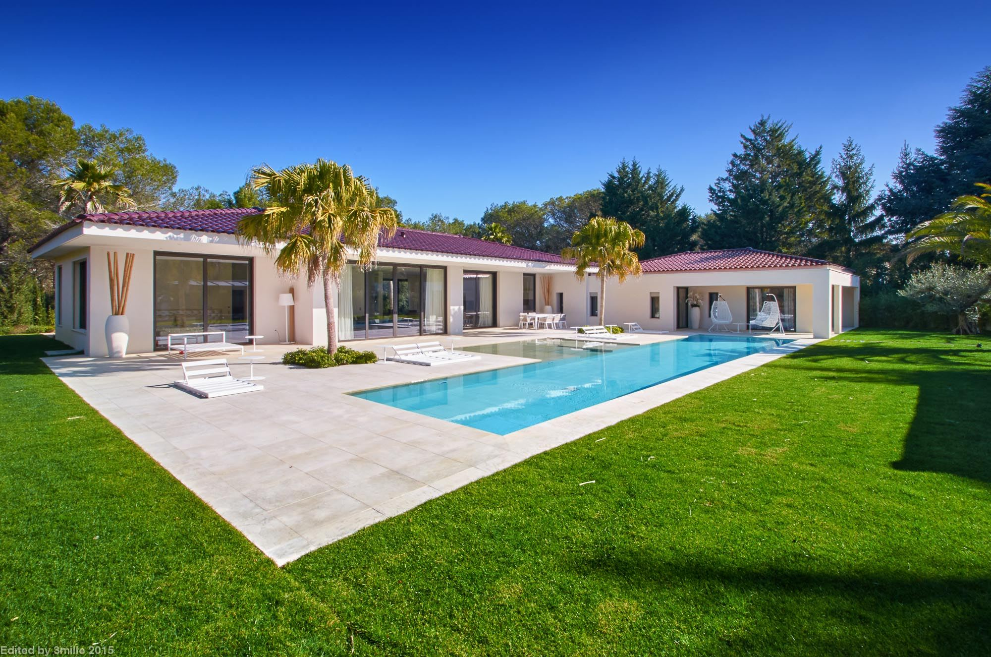 Single Family Home for Sale at Mougins - Contemporary house for sale in a gated domain Mougins, Provence-Alpes-Cote D'Azur, 06250 France