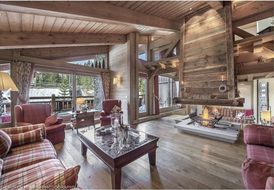 Single Family Home for Rent at Chalet Cornaline for rent in Courchevel Courchevel, Rhone-Alpes, 73120 France