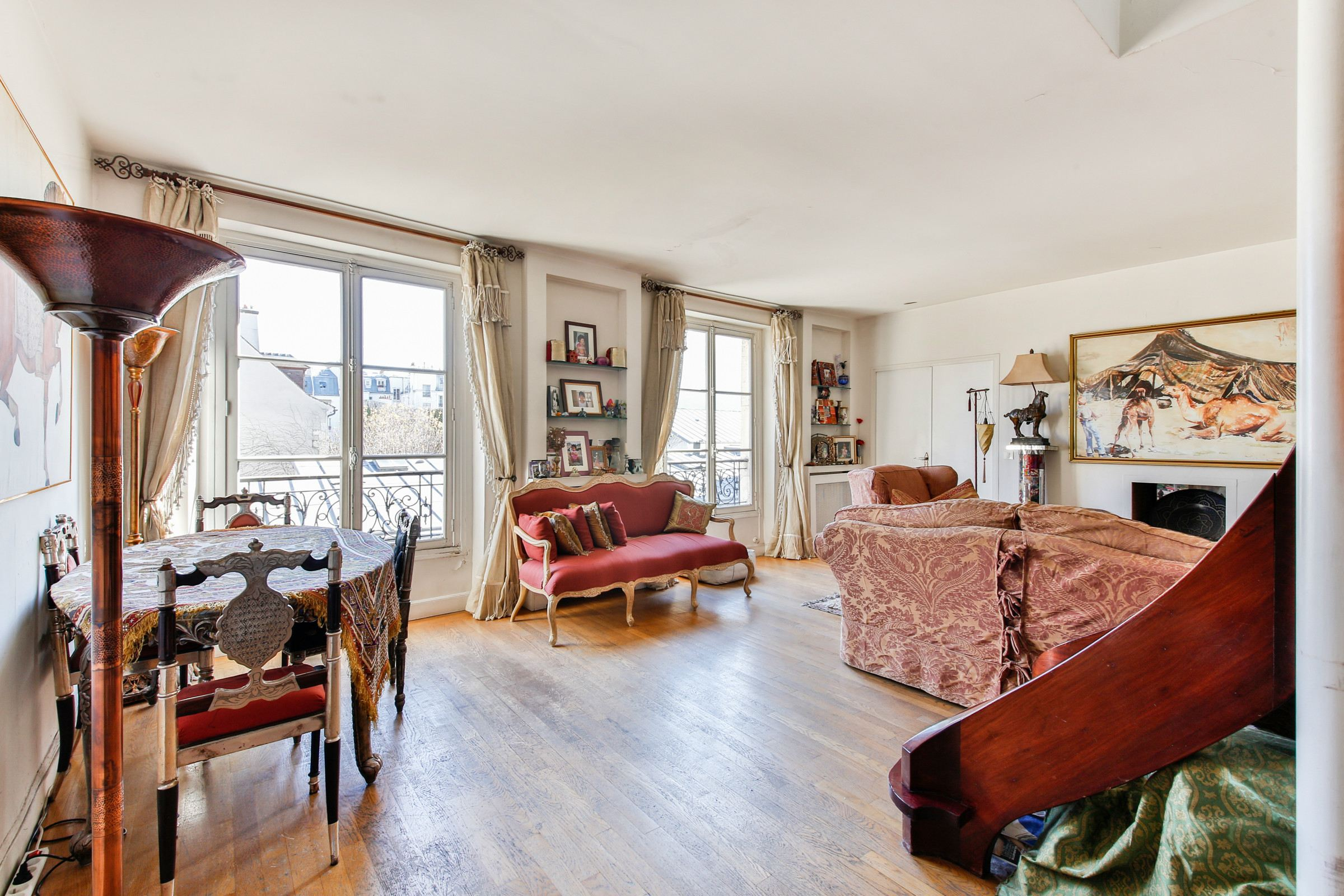 Property For Sale at Paris 3 - Marais. Duplex. Sunny.