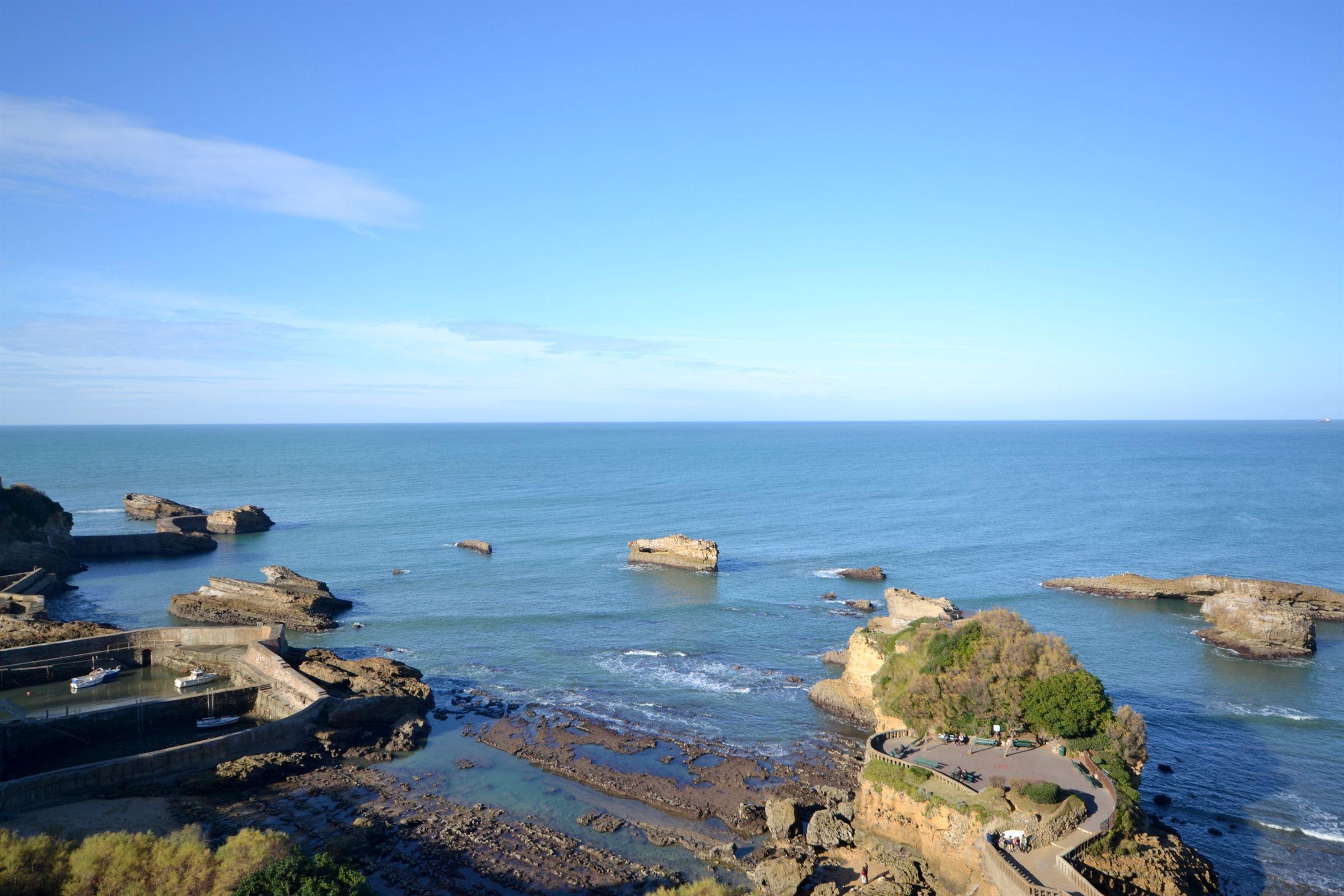 아파트 용 매매 에 BIARRITZ TOWN CENTER OCEAN VIEW Biarritz, 아키텐주, 64200 프랑스