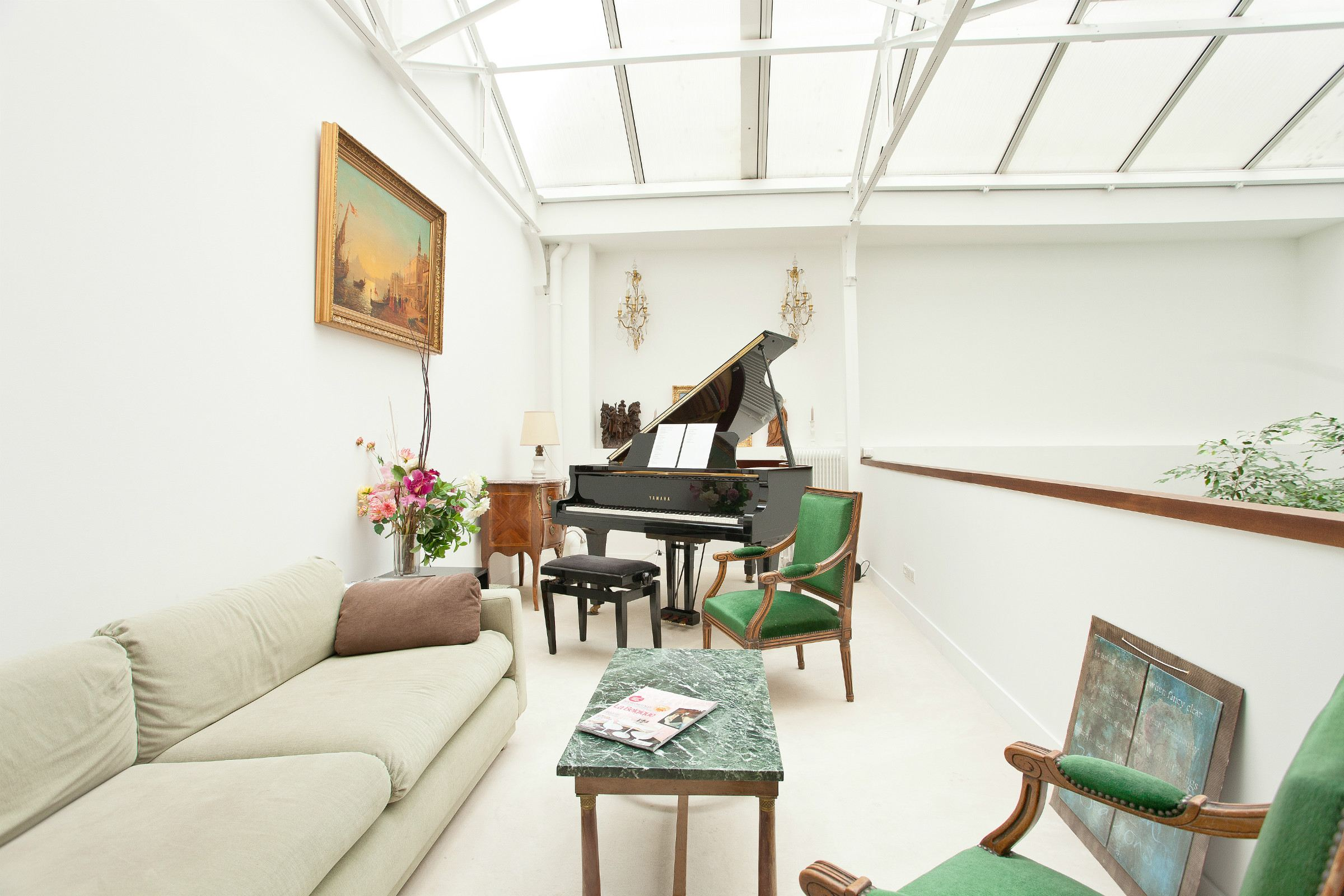 sales property at House with winter garden for sale in Paris 11th