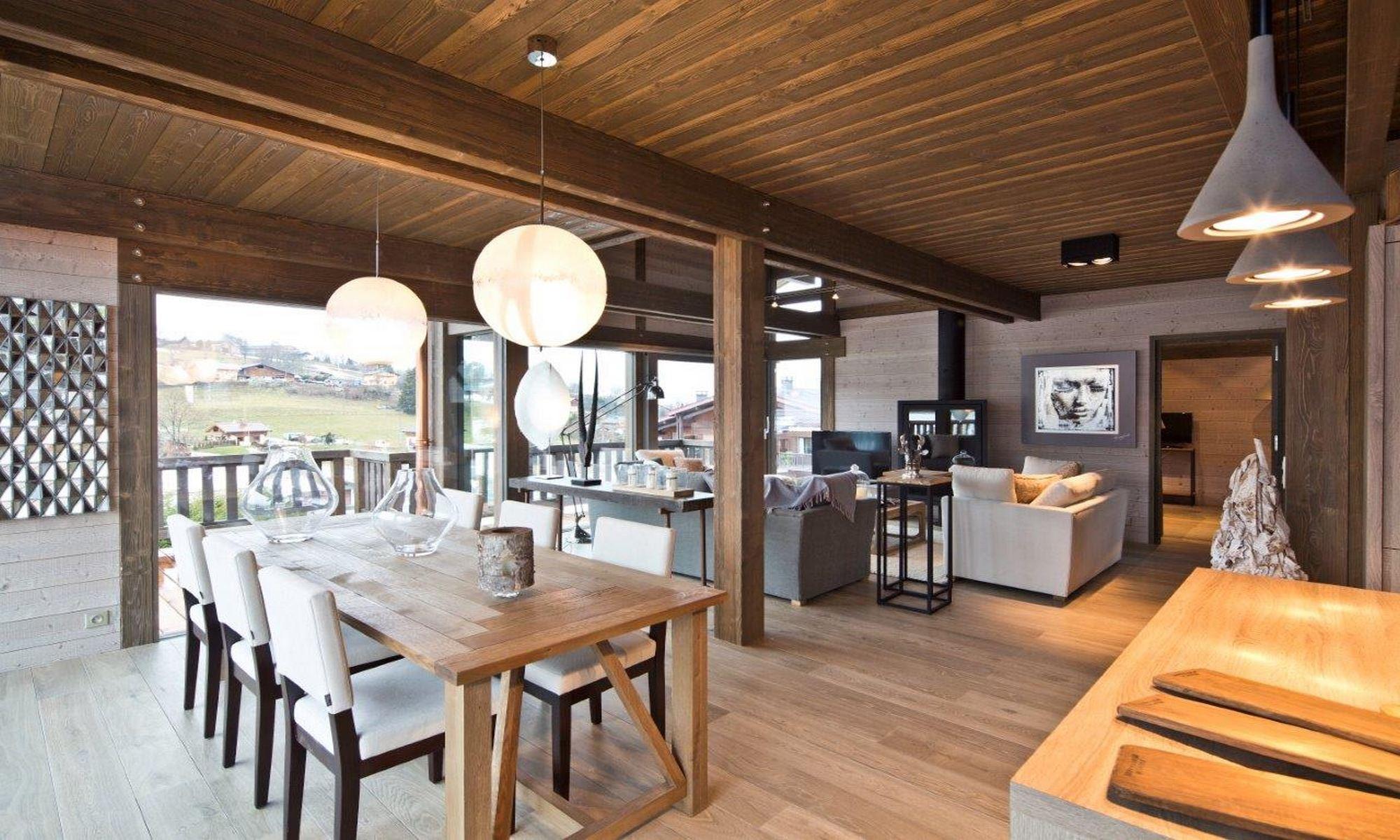 Property For Sale at Megève Demi Quartier Chalet Ebene
