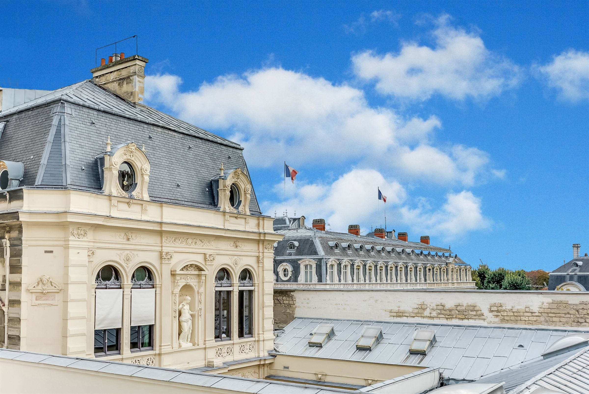 Property For Sale at Paris 8 - Montaigne. Apartment 56 sq.m. Stunning view