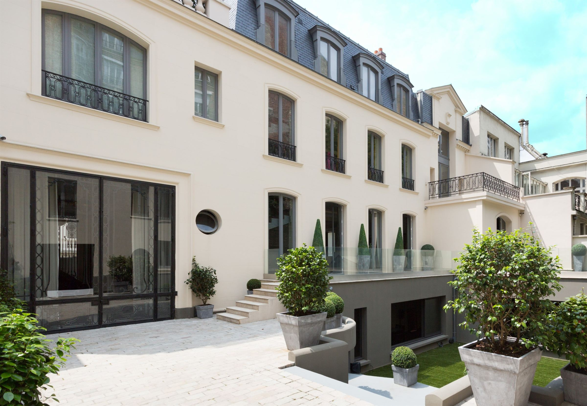 Single Family Home for Sale at Paris 16 - Prestigious Mansion of 1100 sq.m + 400 sq.m garden Paris, Paris 75016 France