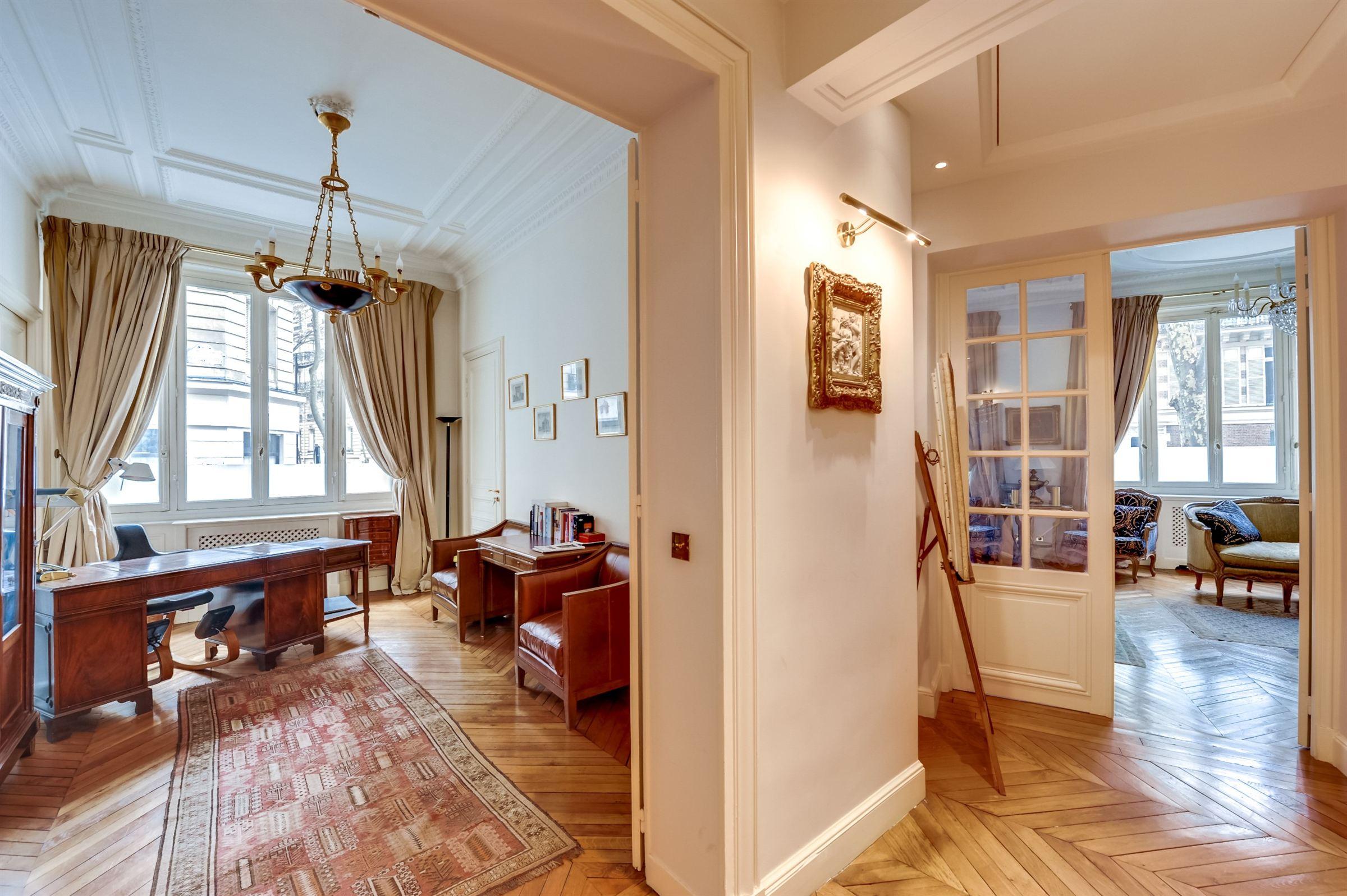 sales property at On sale triplex providing Eiffel Tower view Paris 7 Champ-de-Mars