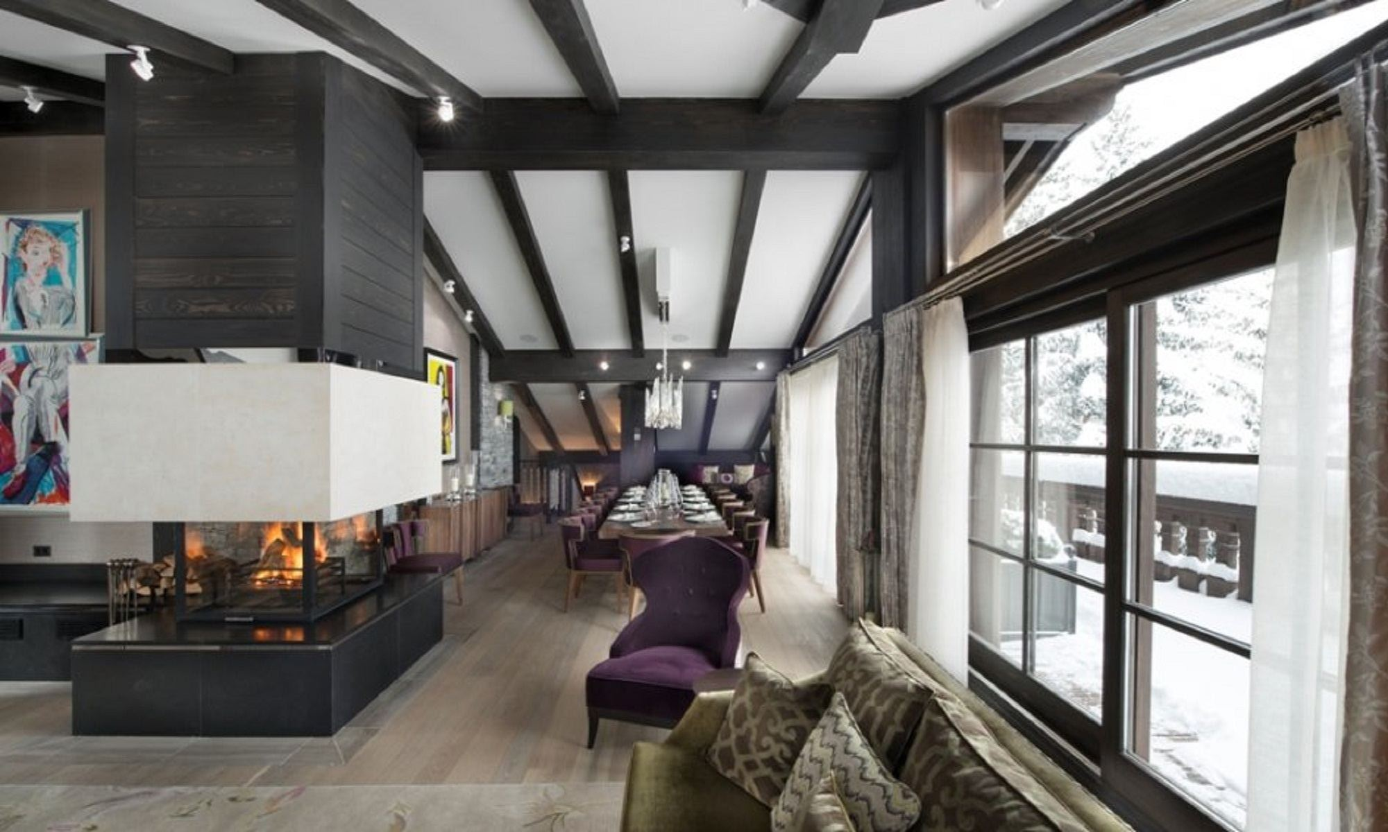 Property Of Luxury Chalet for rent in Courchevel Dalia