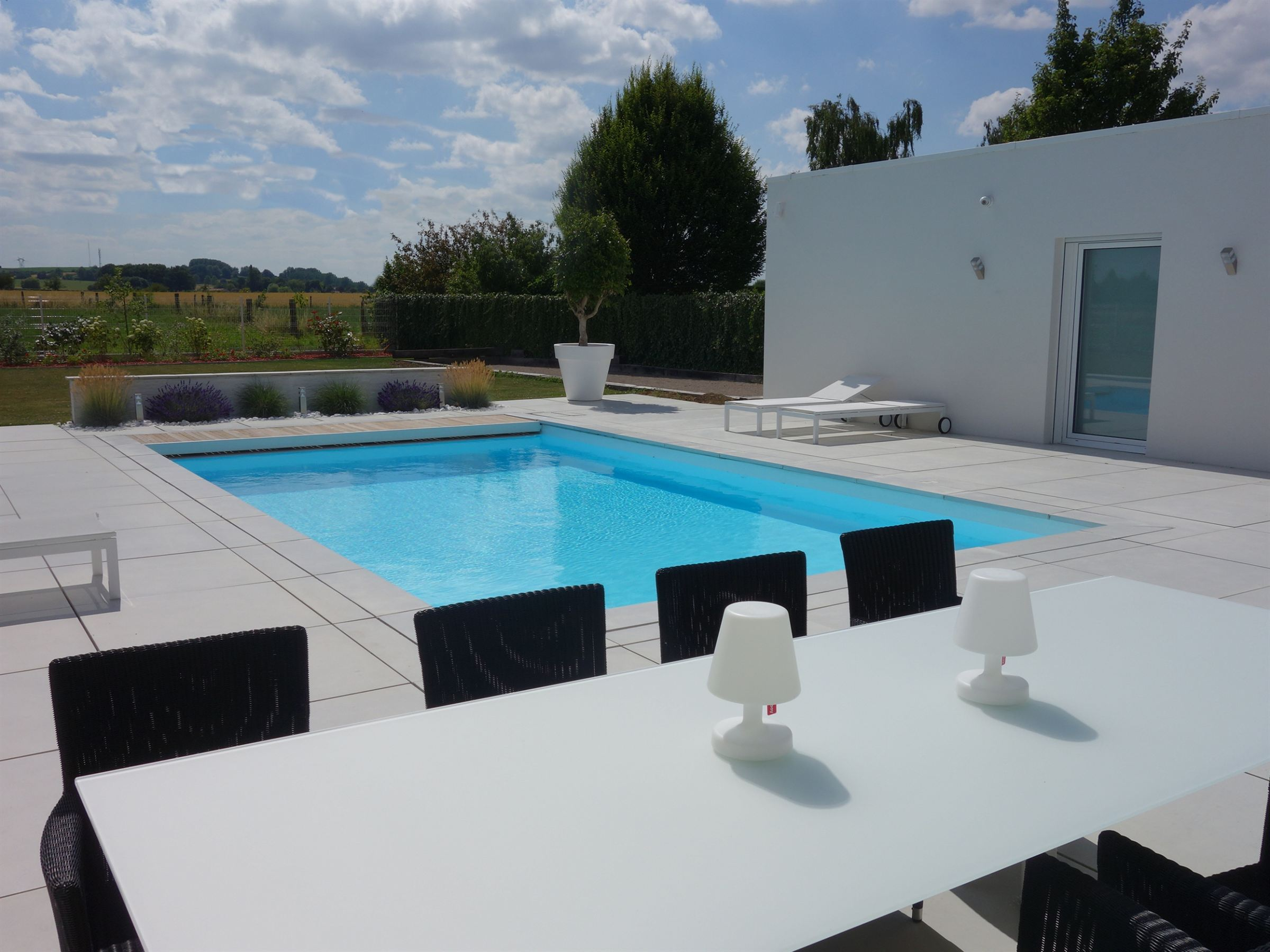 sales property at Mérignies, Luxurious 224sqm contemporary villa, 3 bedrooms.