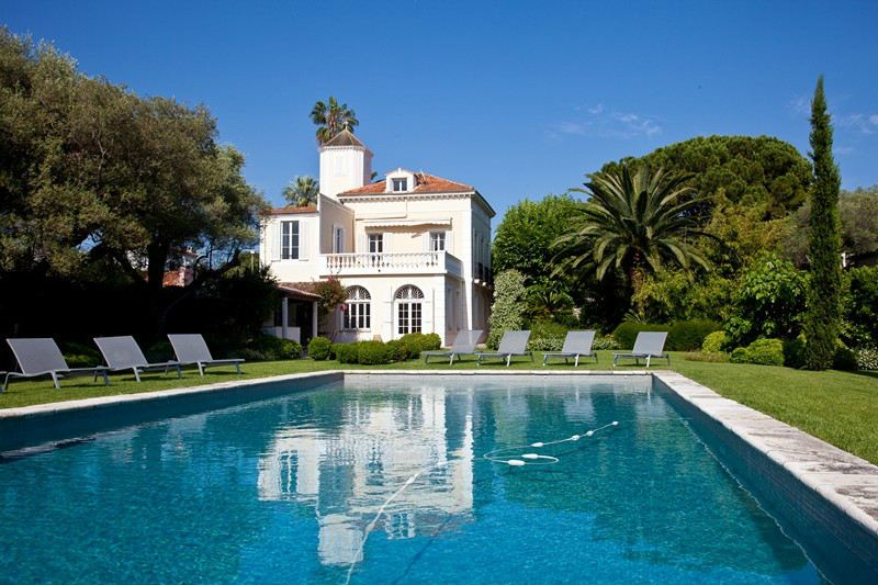 Property For Sale at Charming Belle Epoque villa on the Cap d'Antibes