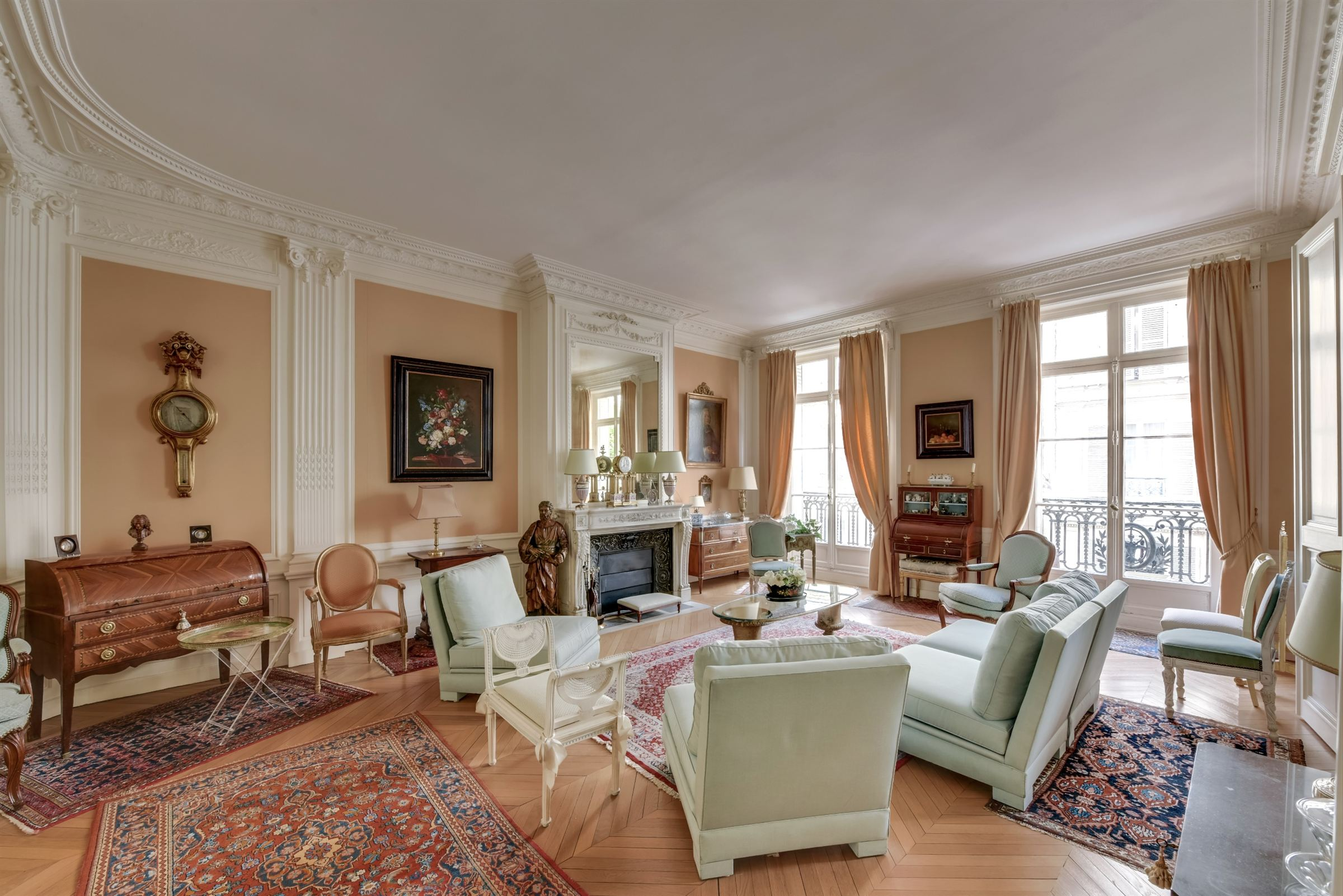 sales property at Apartment offering a view over gardens in Paris 7th - Vaneau-Babylone