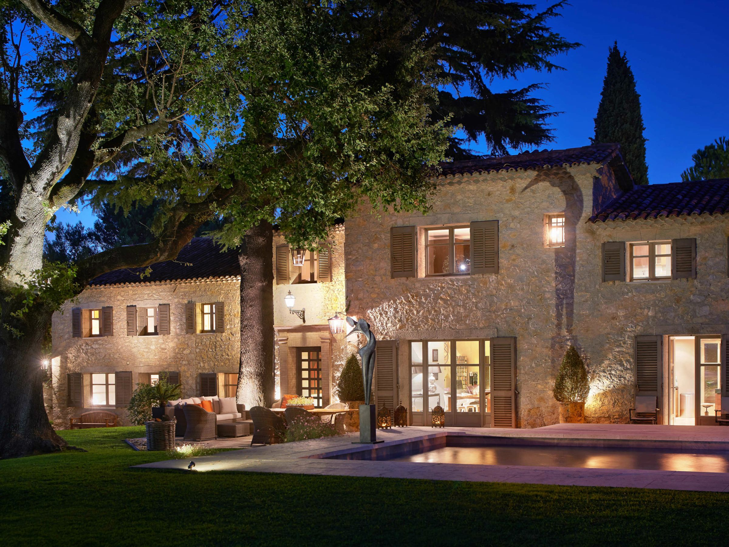 Single Family Home for Sale at Genuine Provencal manor house - Mougins Mougins, Provence-Alpes-Cote D'Azur, 06250 France
