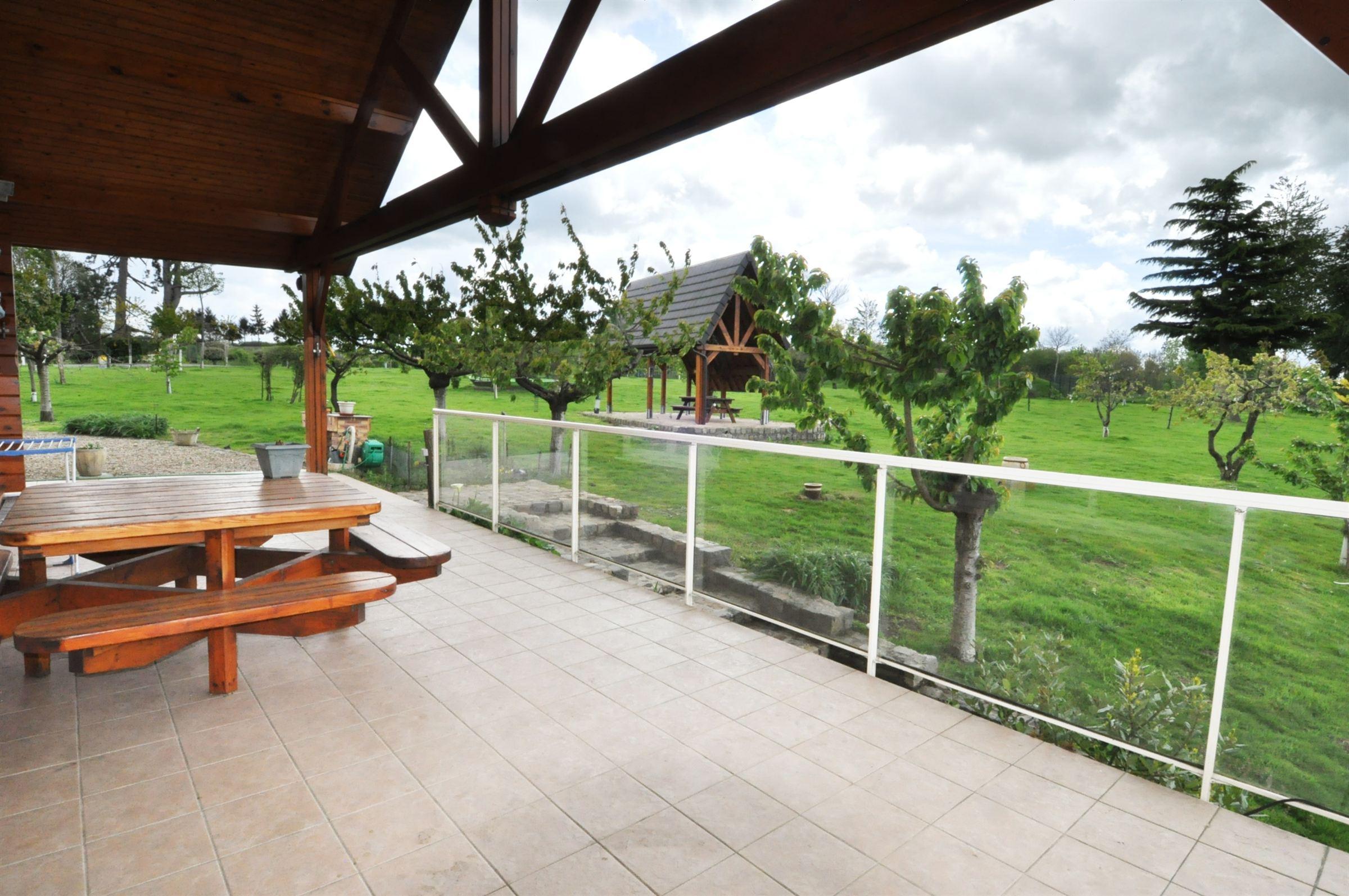 Property For Sale at CAMBRAI 30km, Propriété de chasse sur 21 Ha, et Chalet 340 m2 Hab 5 beds.