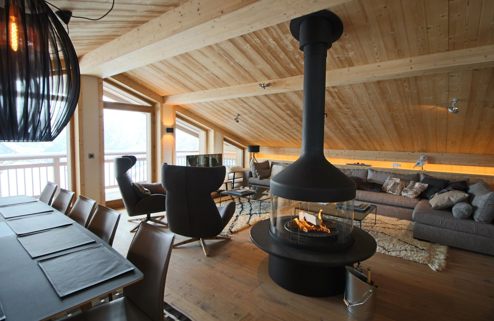 Maison unifamiliale pour l Vente à Chalet Monch Courchevel Courchevel, Rhone-Alpes, 73120 France